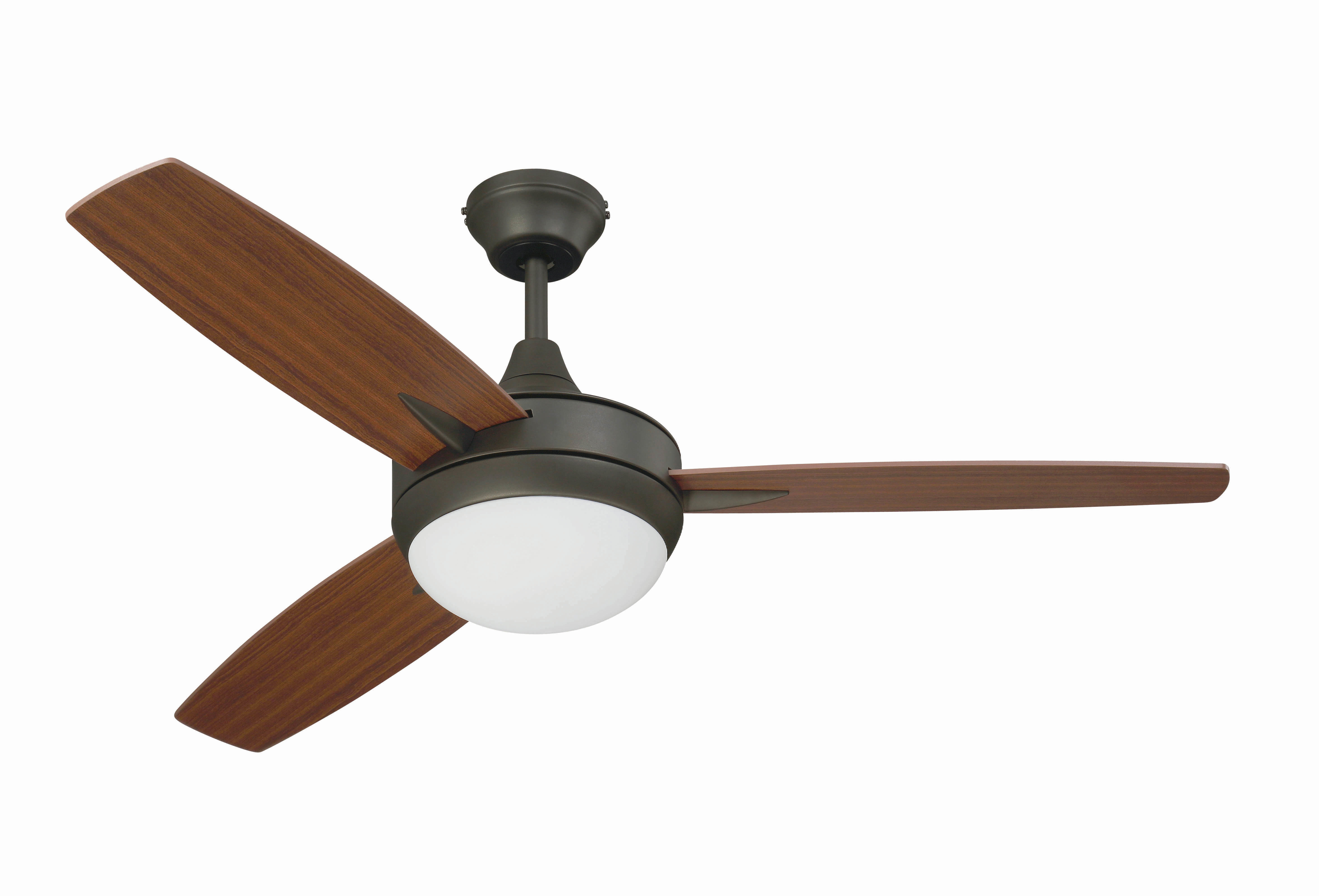 "Well Liked 48"" Knarr 3 Blade Ceiling Fan For Bernabe 3 Blade Ceiling Fans (View 19 of 20)"