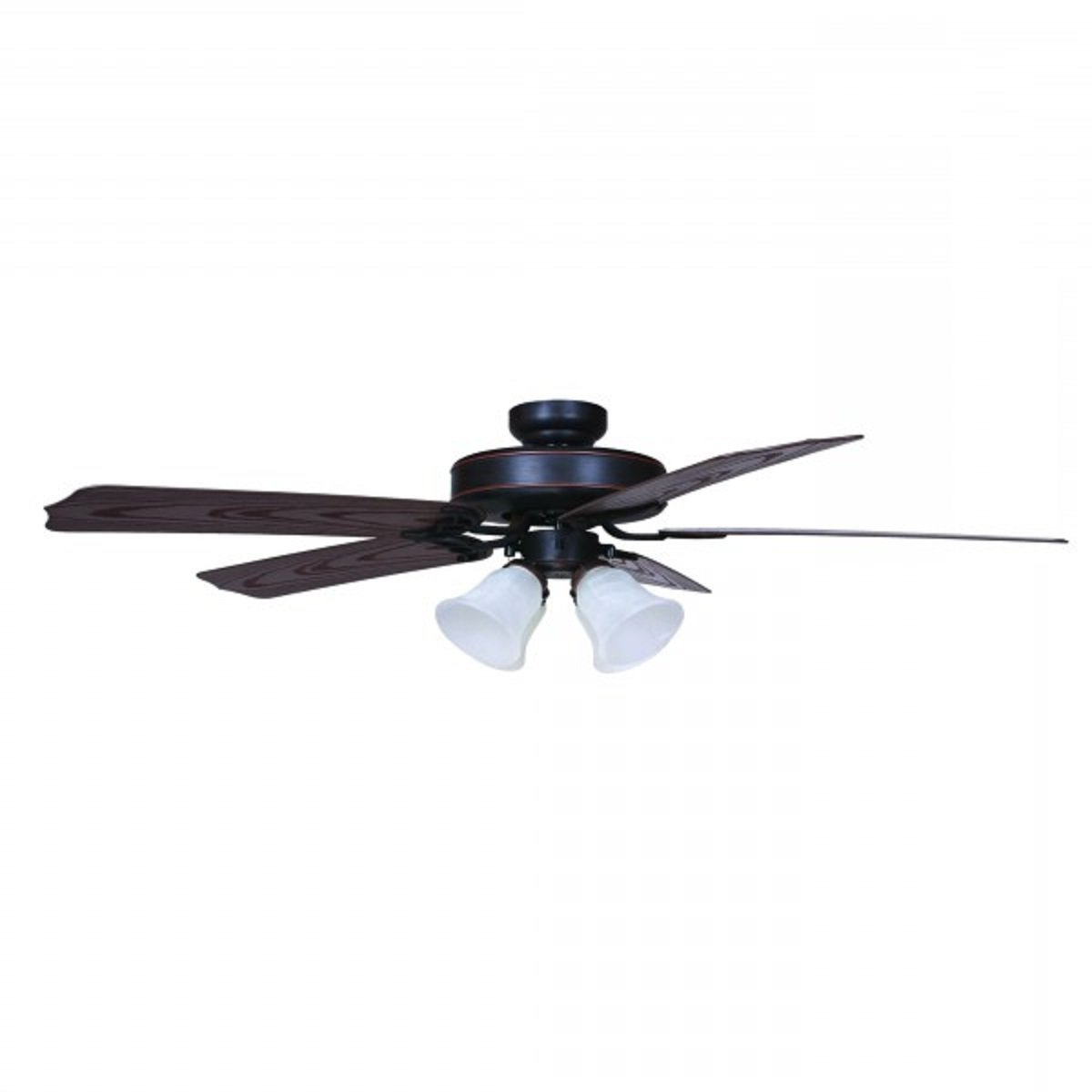 "Well Liked 52"" Cornwall 5 Blade Outdoor Ceiling Fan With Martika 4 Blade Ceiling Fans (View 20 of 20)"