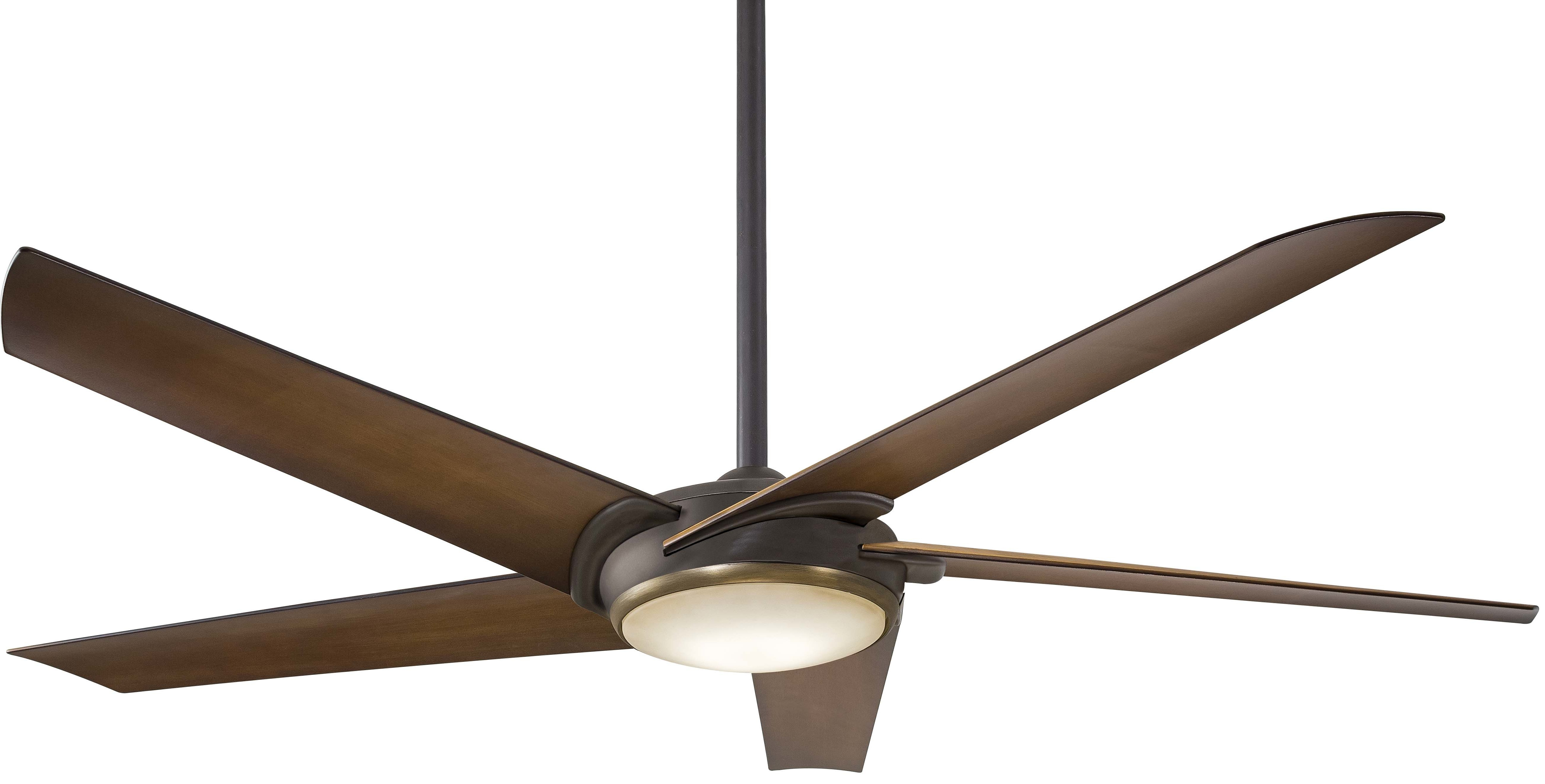 "Well Liked 60"" Raptor 5 Blade Ceiling Fan With Remote Light Kit Included With Regard To Raptor 5 Blade Ceiling Fans (View 20 of 20)"