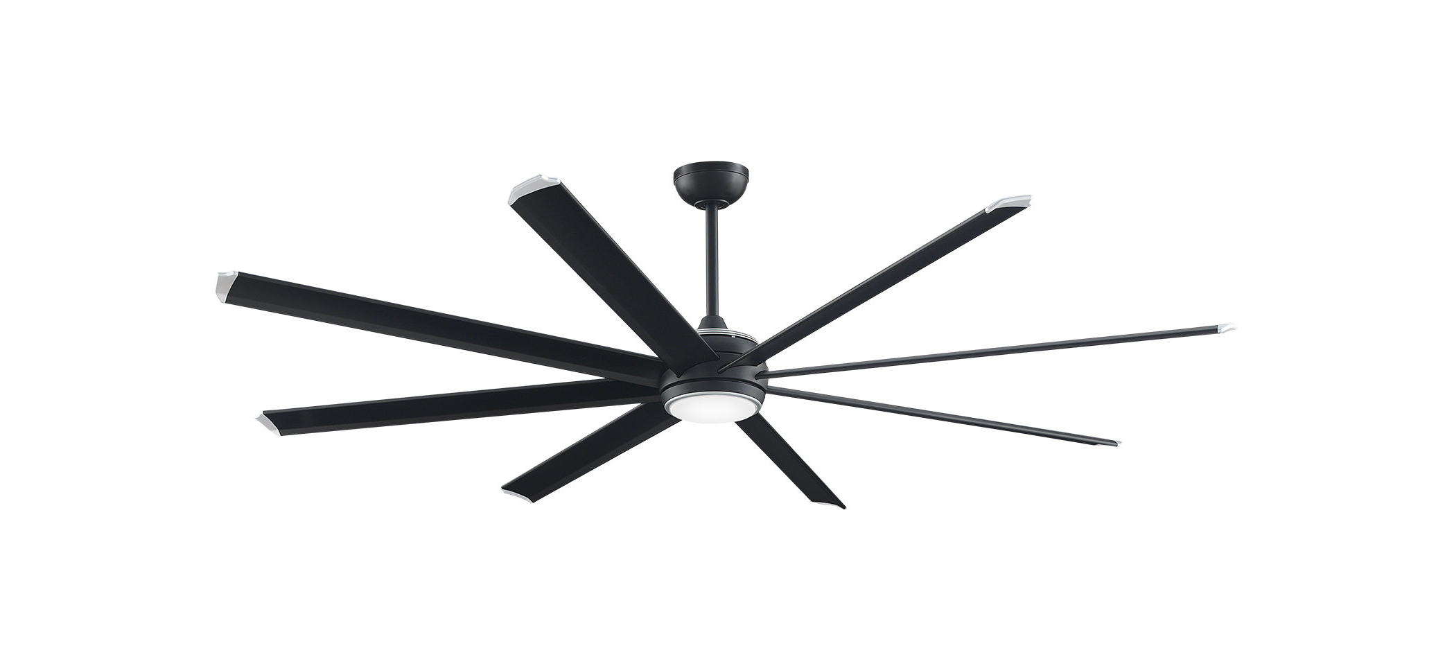 Well Liked Bankston 8 Blade Led Ceiling Fans Regarding Stellar Outdoor Led Smart Ceiling Fan Motor With Remote, Light Kit Included (View 18 of 20)