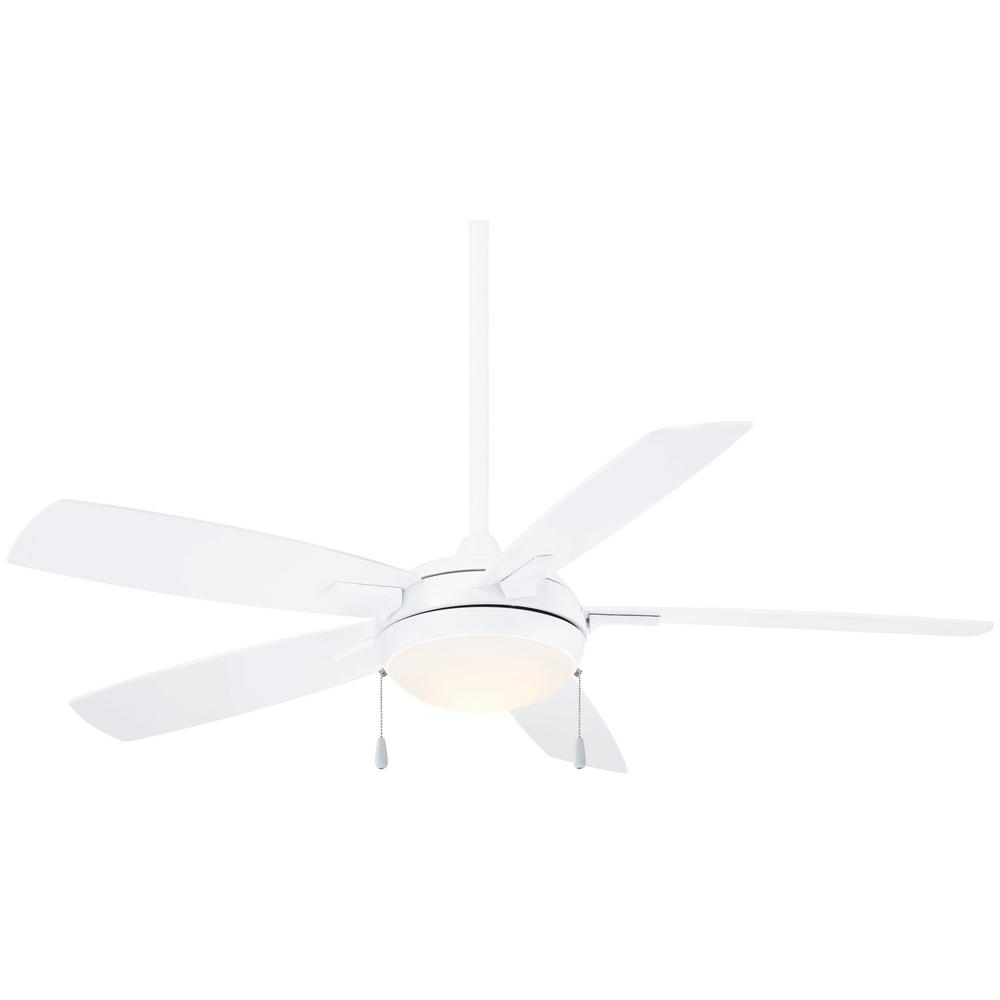 Well Liked Concept Ii 3 Blade Led Ceiling Fans With Remote With Minka Aire Lun Aire 54 In (View 10 of 20)