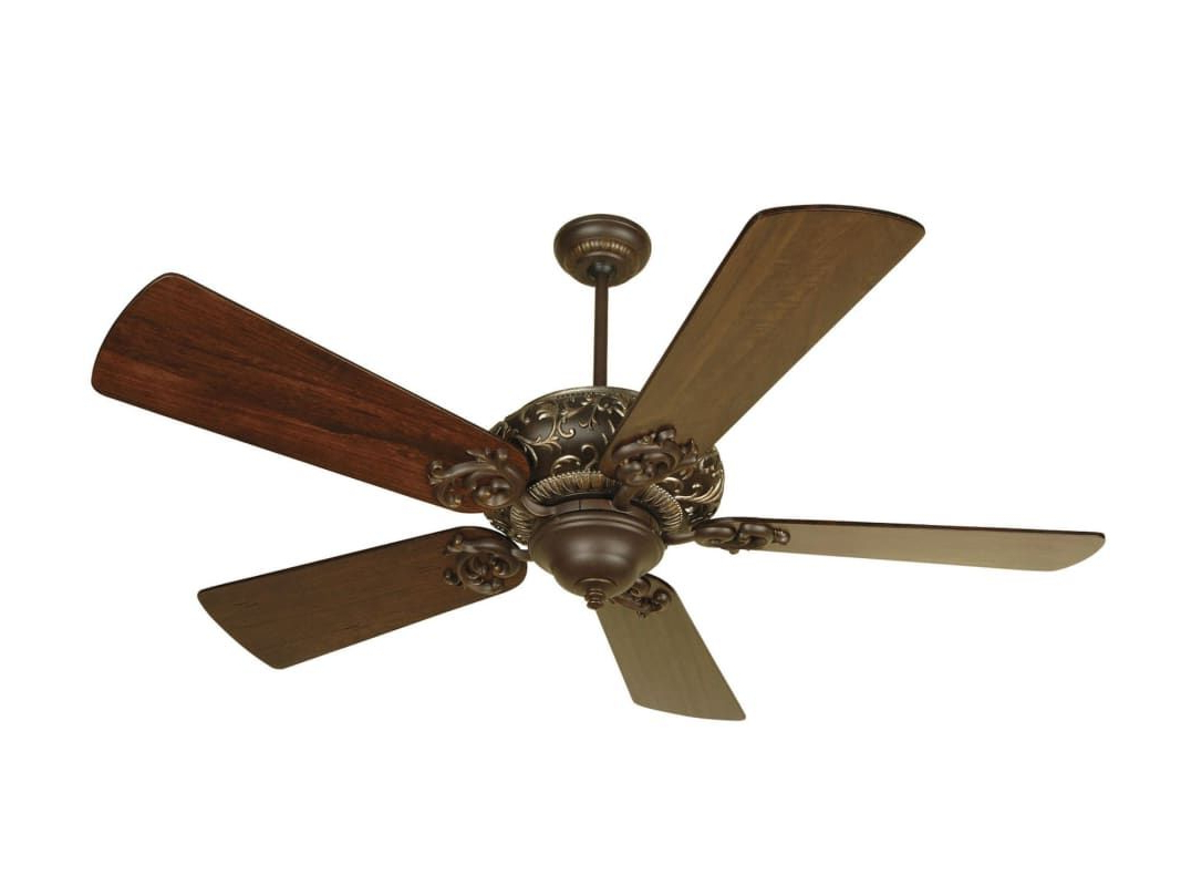 "Well Liked Craftmade K10725 Ophelia 54"" 5 Blade Energy Star Indoor With Regard To Dunaghy 5 Blade Ceiling Fans (View 19 of 20)"