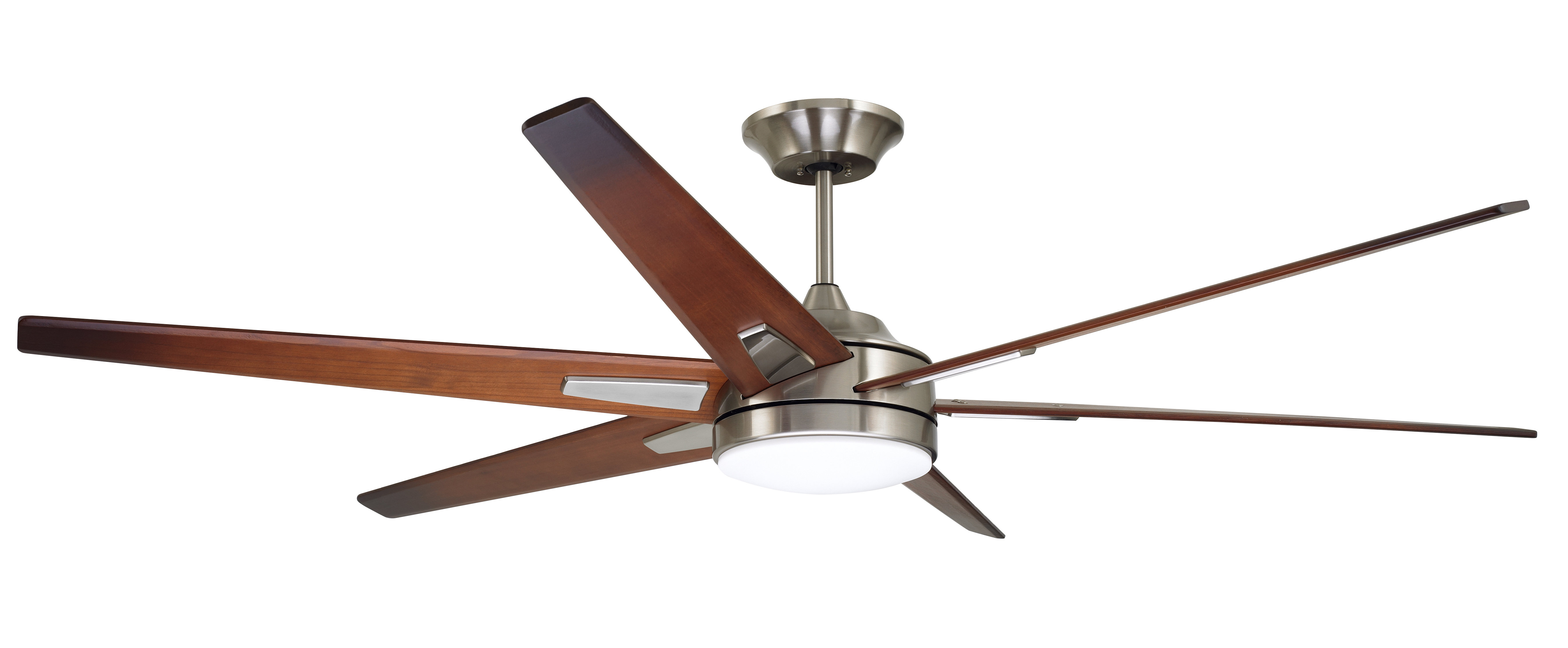 """Well Liked Cranbrook 4 Blade Ceiling Fans Within 72"""" Durst 6 Blade Led Ceiling Fan, Light Kit Included (View 20 of 20)"""
