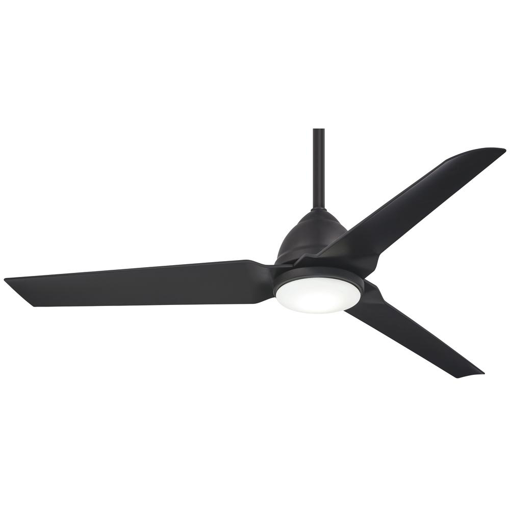 Well Liked Java 3 Blade Outdoor Led Ceiling Fans For Minka Aire Java 54 In (View 20 of 20)