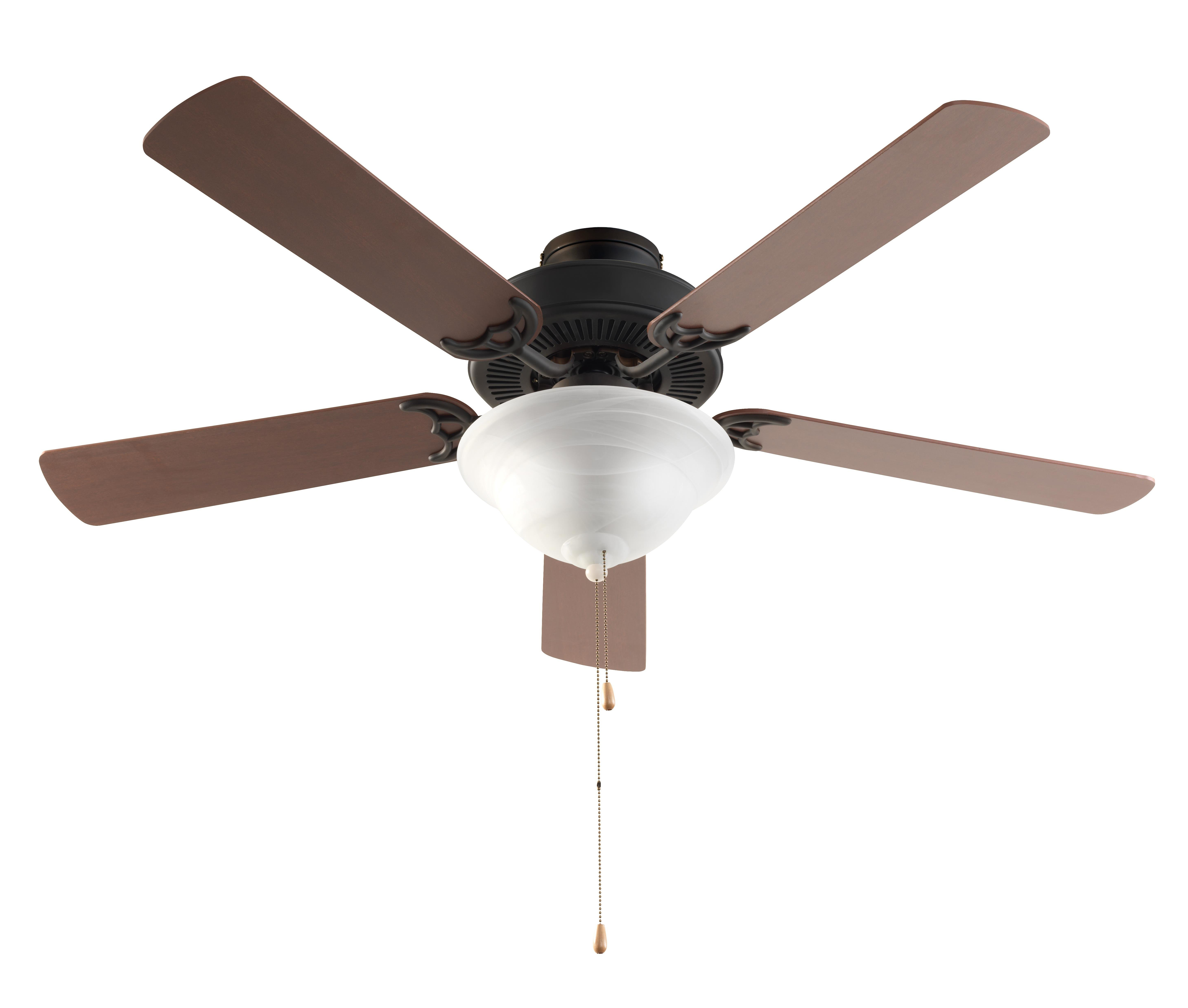 Well Liked Mattias 5 Blade Ceiling Fans Throughout Hamlett 5 Blade Ceiling Fan, Light Kit Included (View 4 of 20)