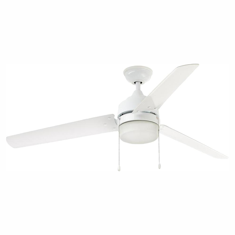 Well Liked Paige 3 Blade Led Ceiling Fans Within Home Decorators Collection Carrington 60 In (View 20 of 20)