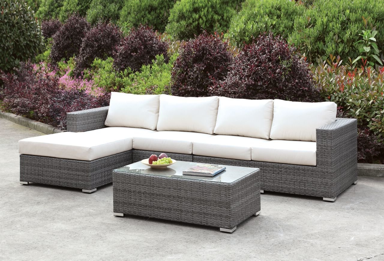 Well Liked Peters 3 Piece Sectional Collection For Jamarion 4 Piece Sectionals With Sunbrella Cushions (View 20 of 20)