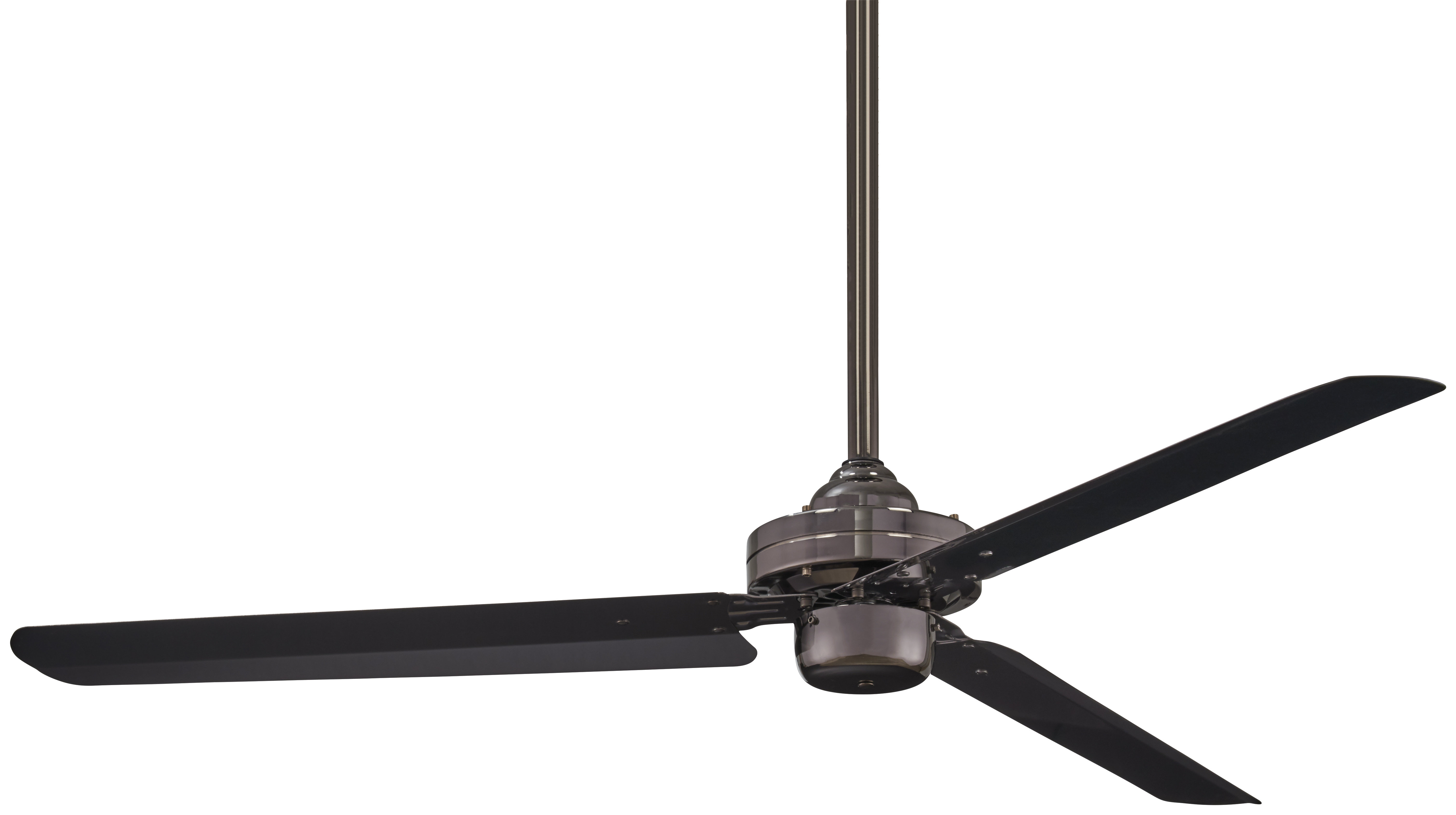 """Well Liked Rudolph 3 Blade Ceiling Fans For 54"""" Steal 3 Blade Ceiling Fan (View 20 of 20)"""