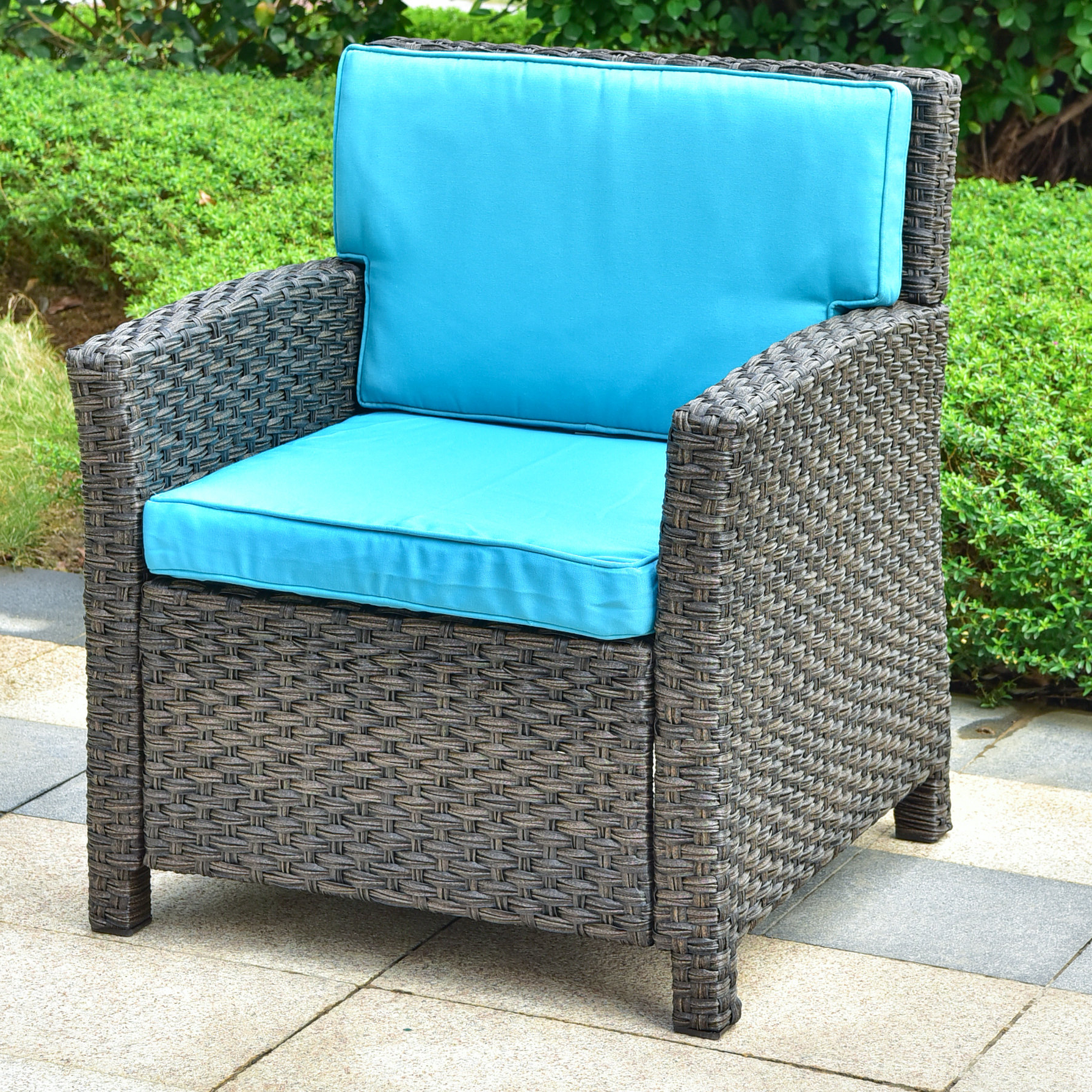 Featured Photo of Stapleton Wicker Resin Patio Sofas With Cushions
