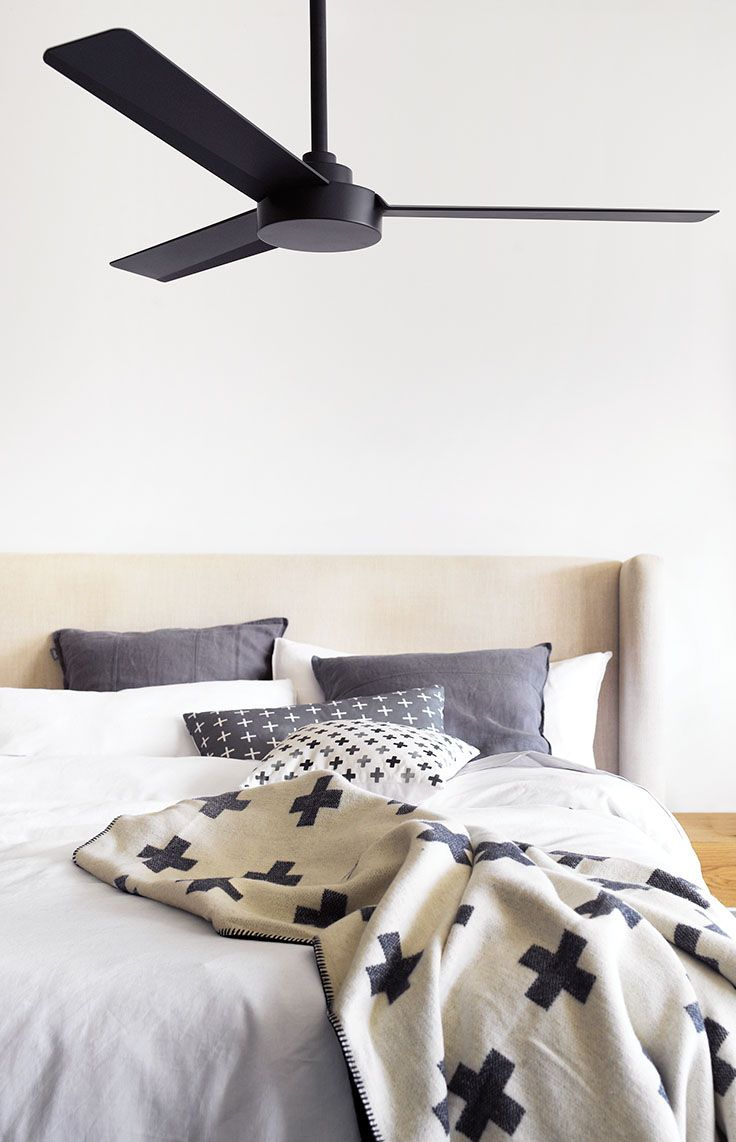 Well Liked The Beacon Lighting Minka Aire Roto 3 Blade Ceiling Fan Only Within Roto 3 Blade Ceiling Fans (View 3 of 20)