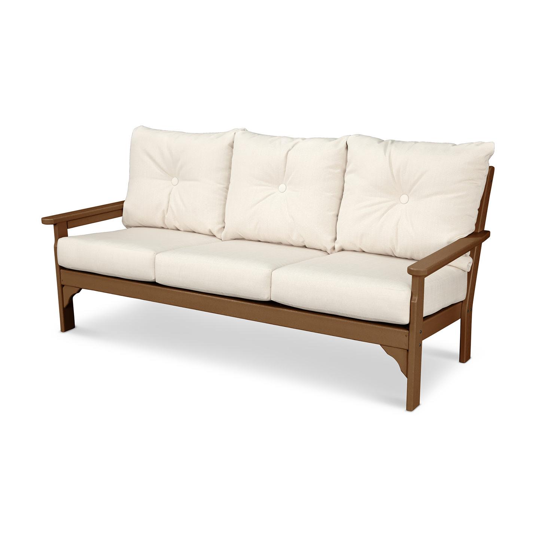 Well Liked Vineyard Deep Seating Sofas Throughout Polywood® Vineyard Deep Seating Sofa (View 20 of 20)