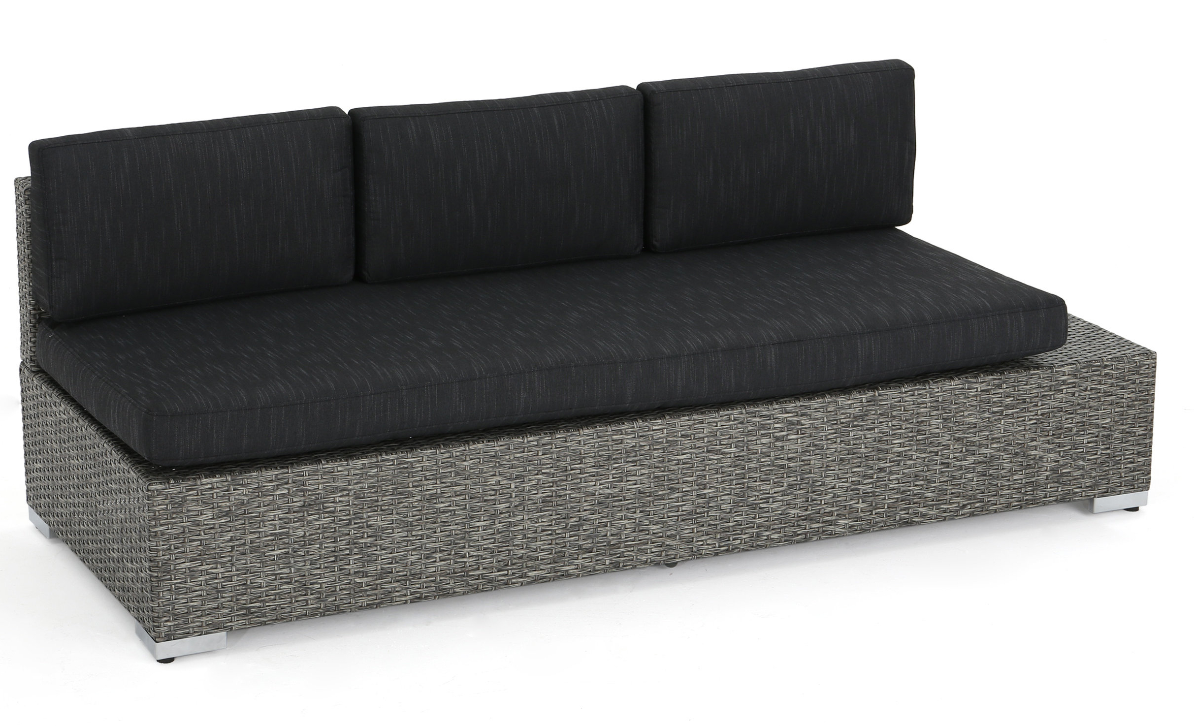 Well Liked Yoselin Patio Sofas With Cushions With Regard To Furst Patio Sofa With Cushion (View 18 of 20)