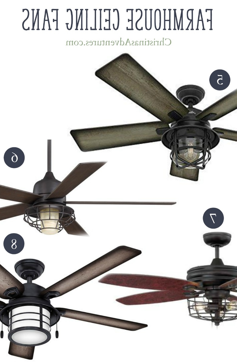 Where To Buy Farmhouse Ceiling Fans Online – Christinas With Well Liked Marcoux 5 Blade Ceiling Fans (View 20 of 20)