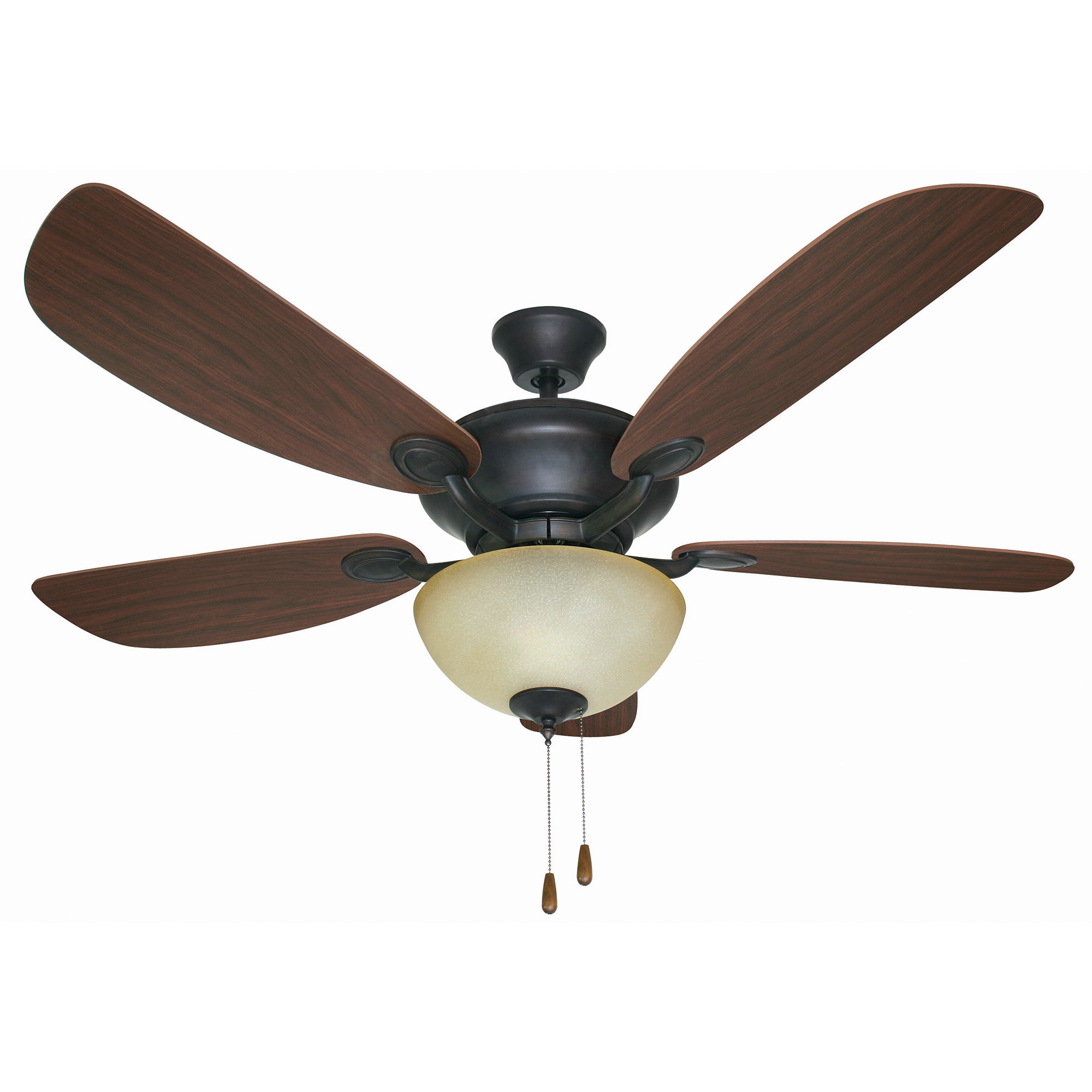 "Widely Used 52"" Harber Dual Mount 5 Blade Ceiling Fan, Light Kit Included With Stewardson 4 Blade Ceiling Fans (View 18 of 20)"