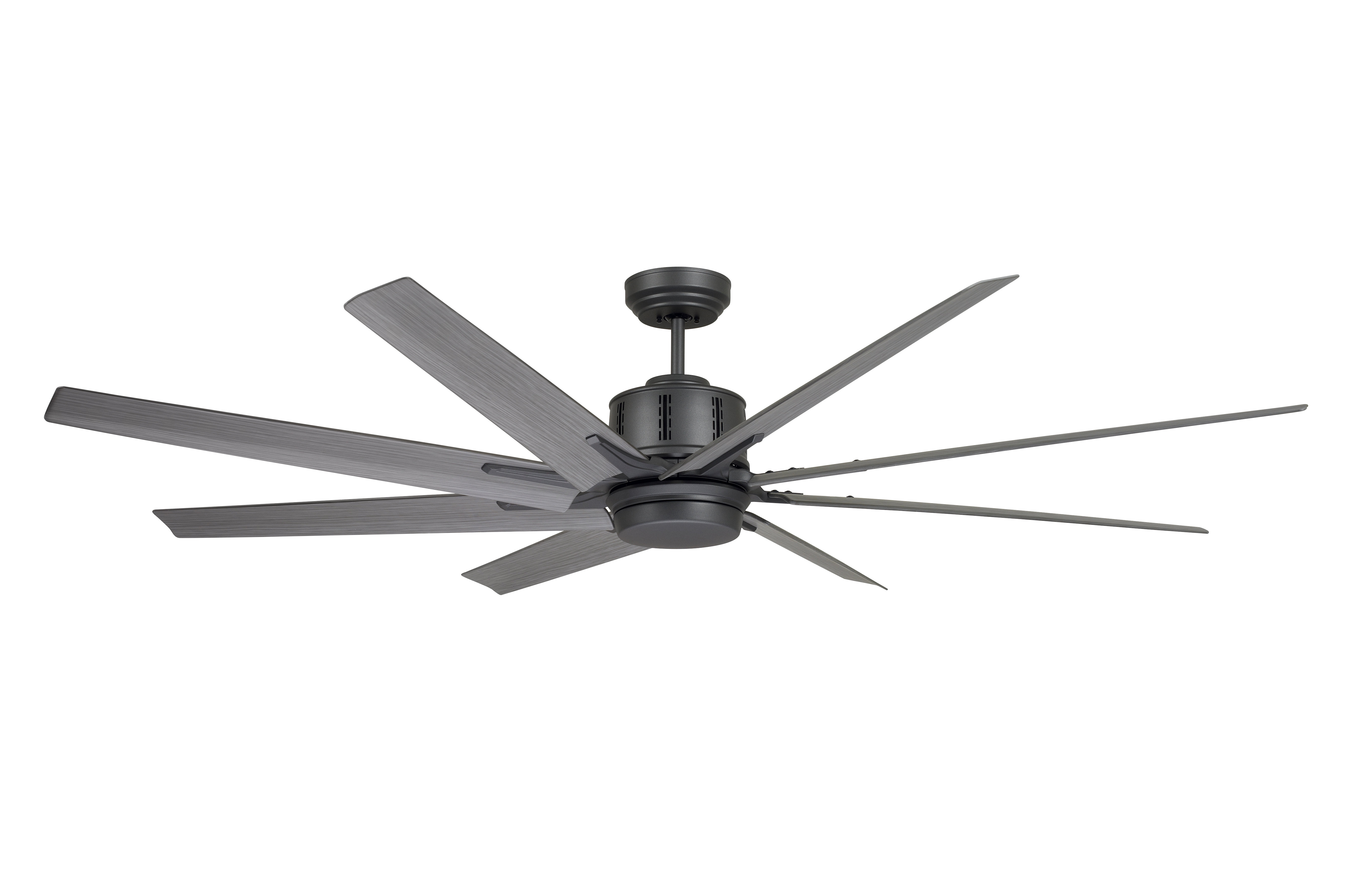 "Widely Used Brayden Studio 72"" Shayna 8 Blade Led Ceiling Fan With Inside Levon 8 Blade Ceiling Fans (View 14 of 20)"
