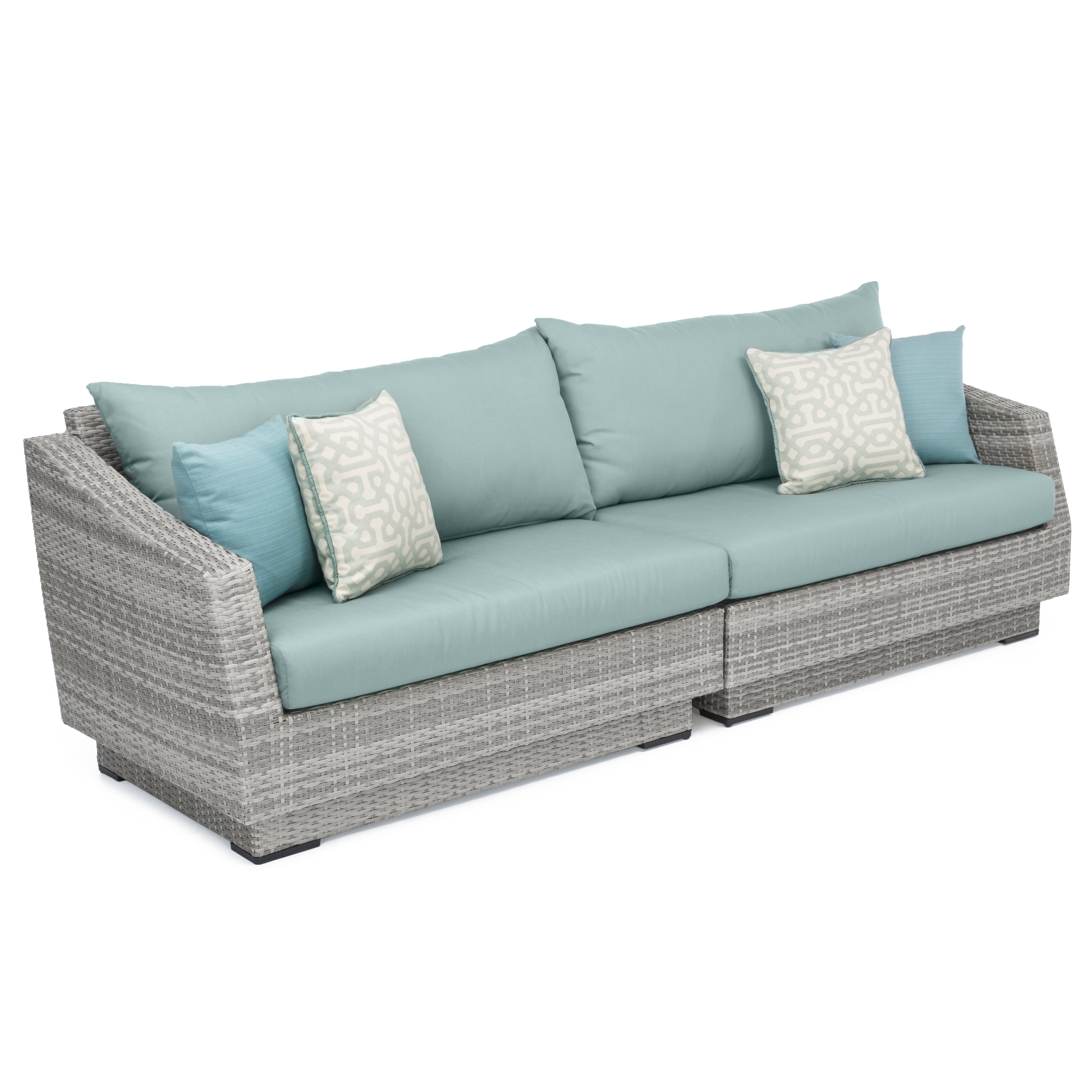 Widely Used Castelli Patio Sofa With Sunbrella Cushions For Castelli Patio Sofas With Sunbrella Cushions (View 20 of 20)