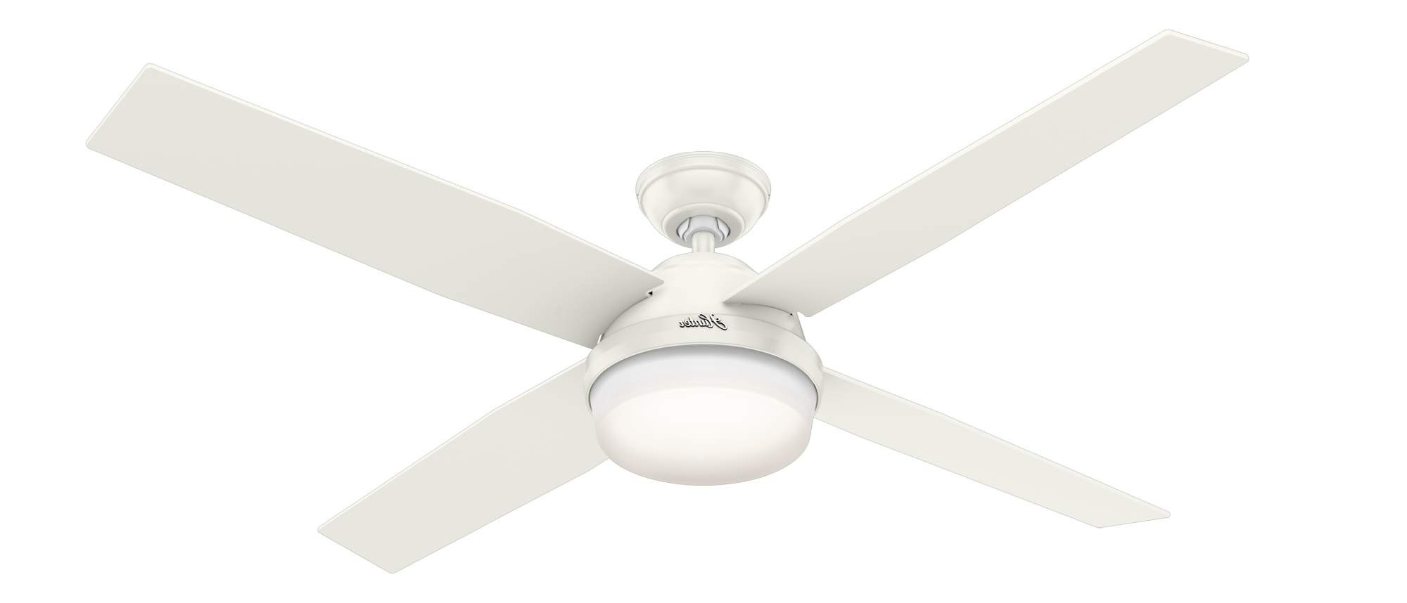 Widely Used Hunter Dempsey 60 Light Ceiling Fan Model 59442 In Dempsey 4 Blade Ceiling Fans (View 20 of 20)