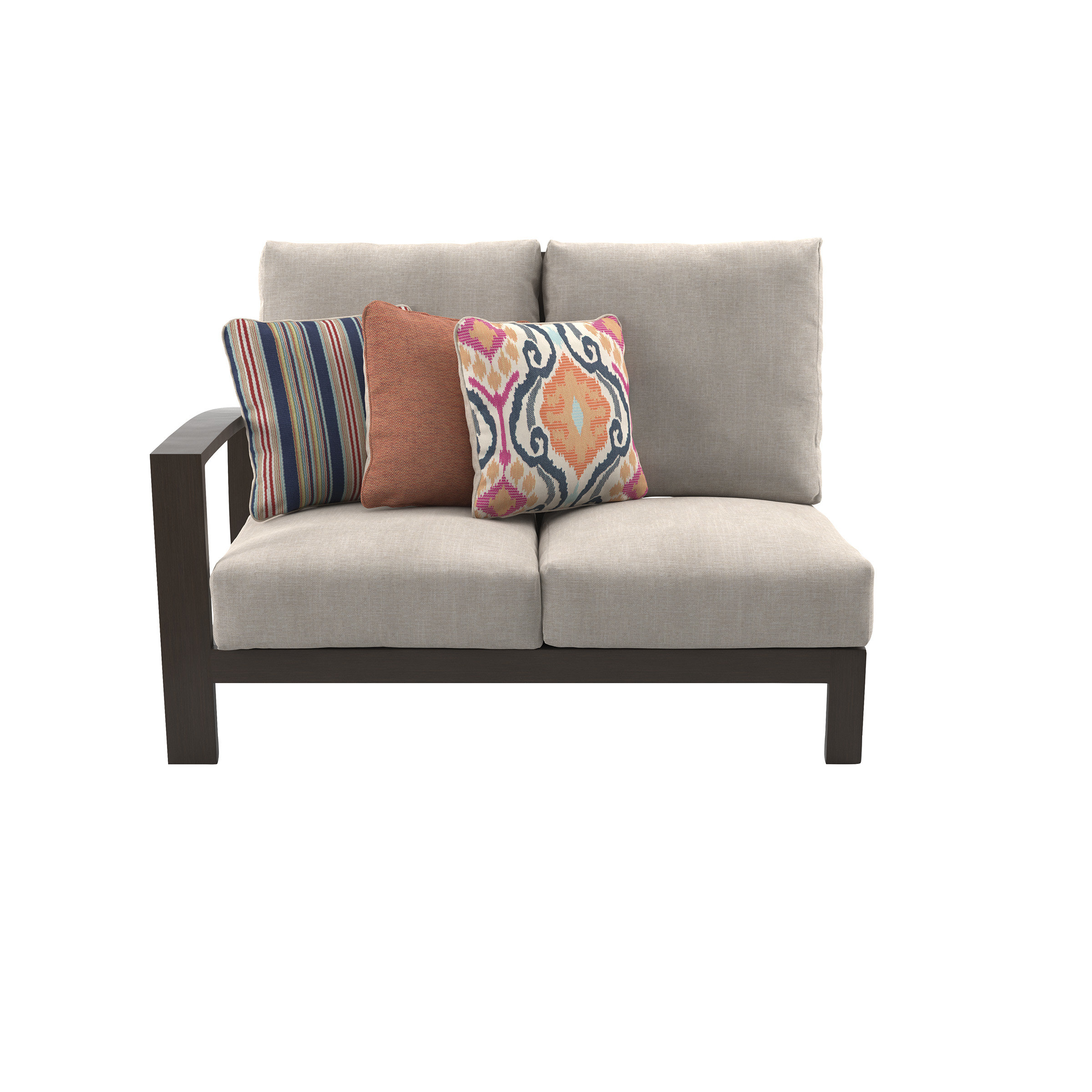 Widely Used Jay Loveseat With Cushions Inside Clifford Loveseats With Cushion (View 9 of 20)