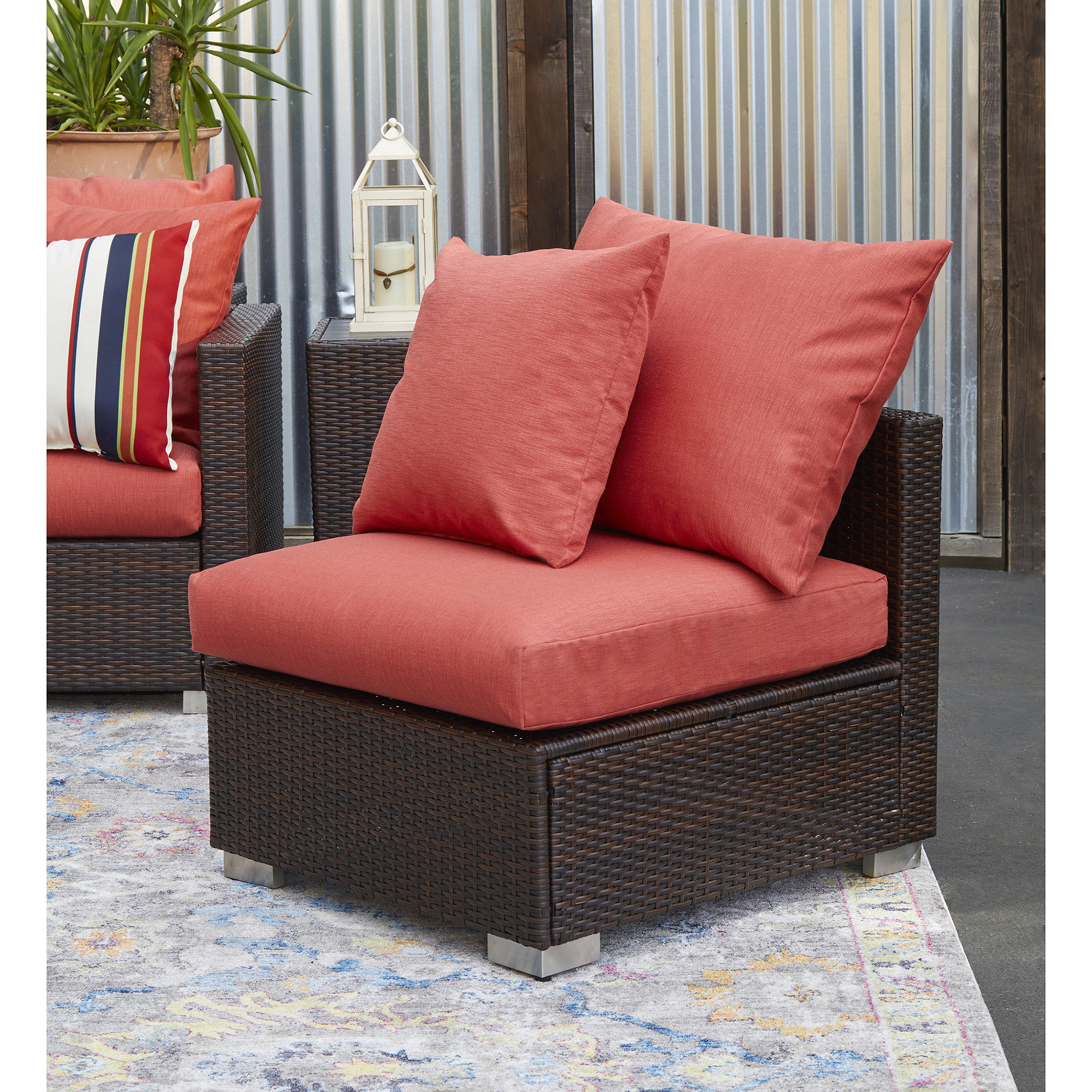 Widely Used Mcmanis Patio Sofas With Cushion With Regard To Mcmanis Outdoor Patio Chair With Cushions (View 20 of 20)
