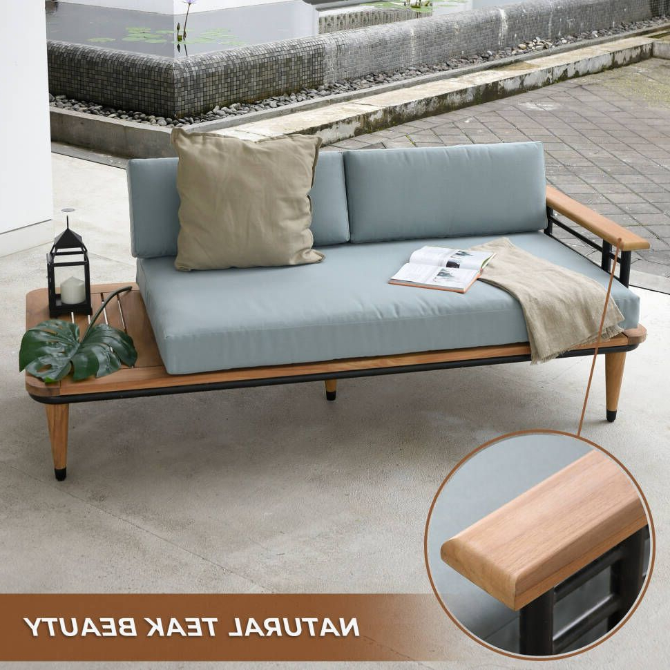 Widely Used Pinterest – Пинтерест For Clary Teak Lounge Patio Daybeds With Cushion (Gallery 8 of 20)