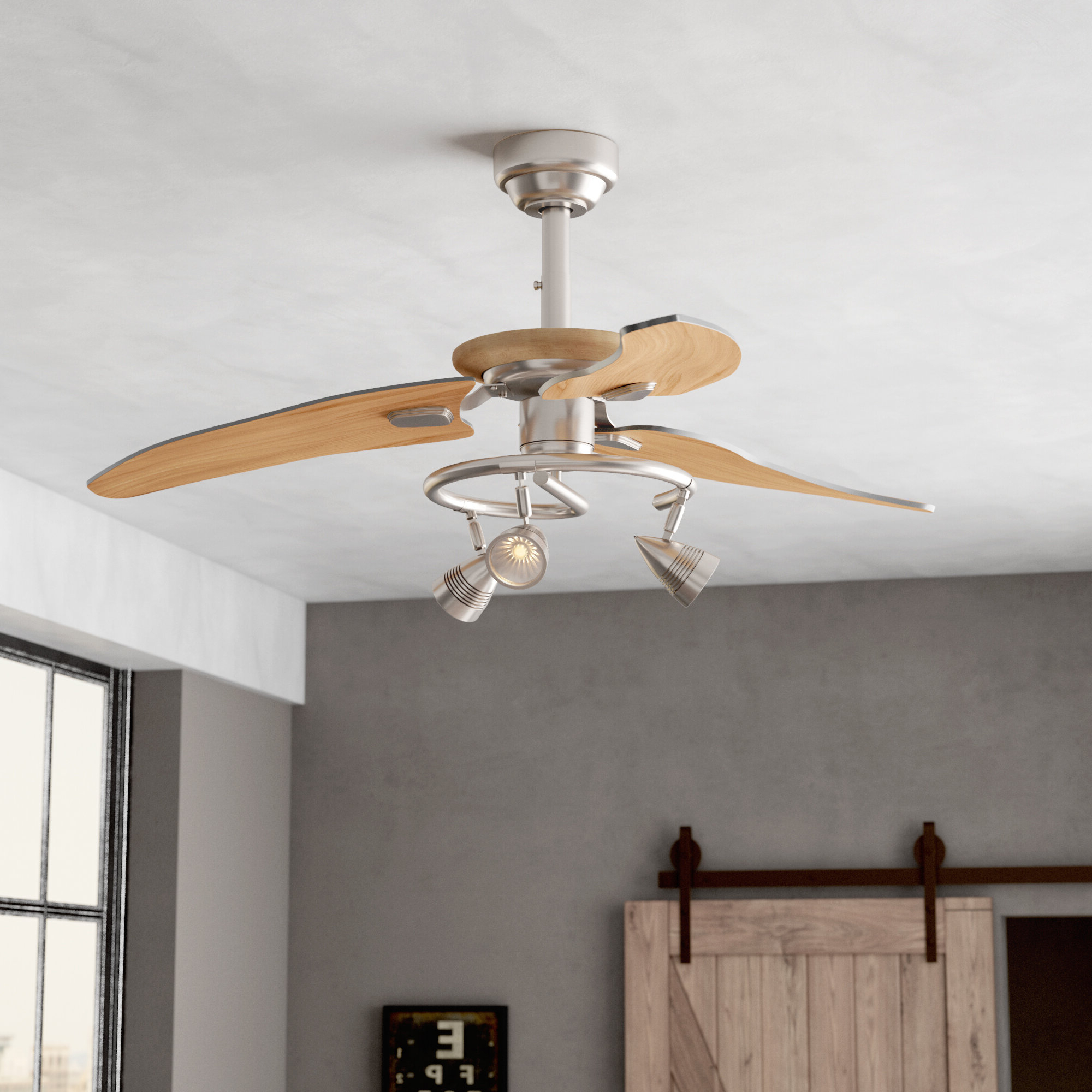 Featured Photo of Truesdale 3 Blades Ceiling Fans