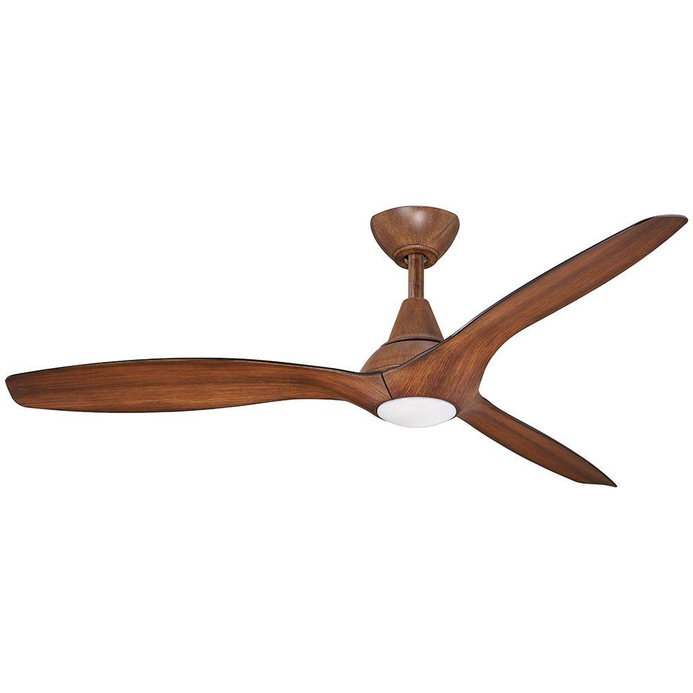 Widely Used Wave 3 Blade Ceiling Fans With Remote Pertaining To Aire A Minka Group Design Tidal Breeze 56 In (View 9 of 20)