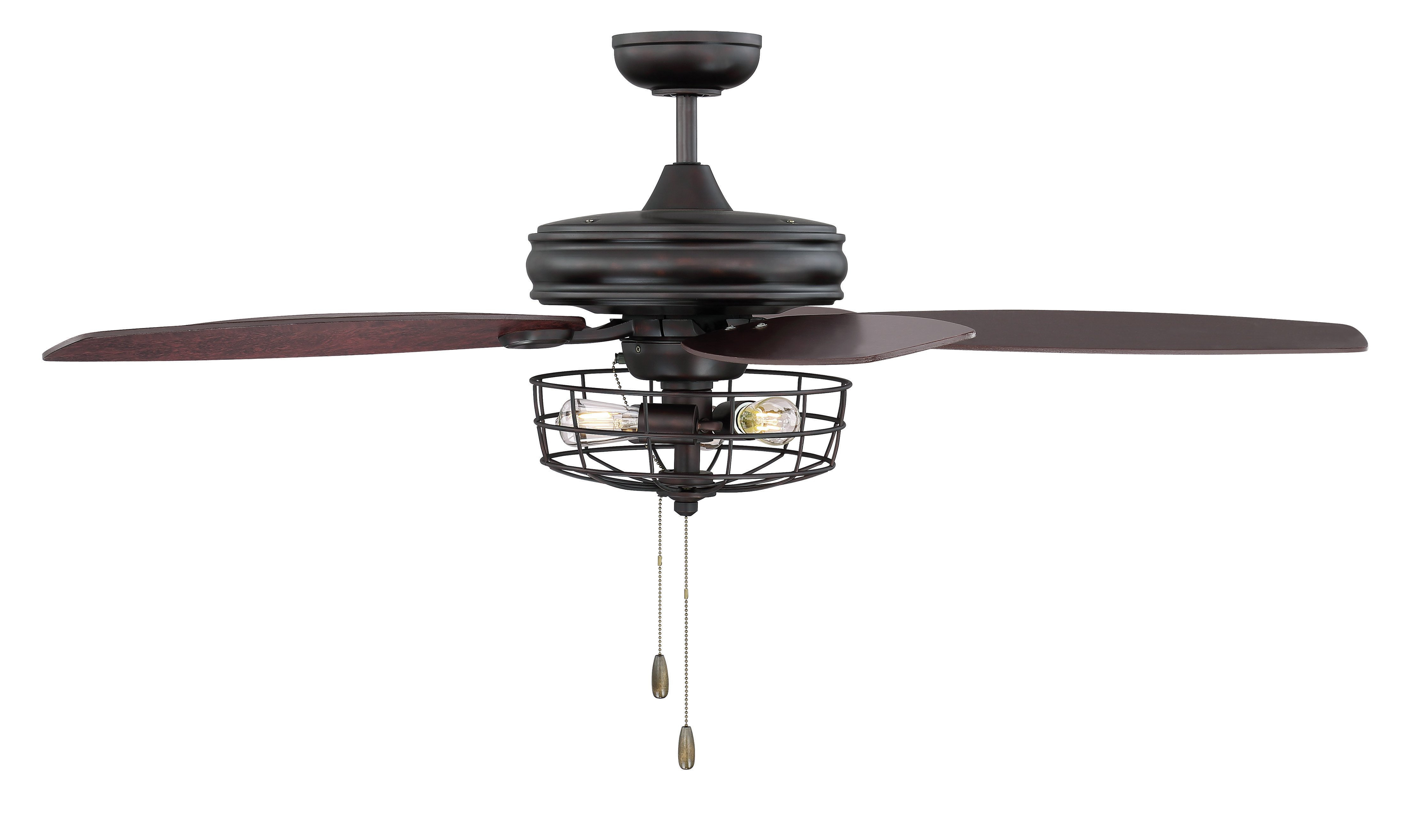 """Wilburton 3 Blade Outdoor Ceiling Fans Throughout Popular 52"""" Glenpool 5 Blade Ceiling Fan, Light Kit Included (View 18 of 20)"""