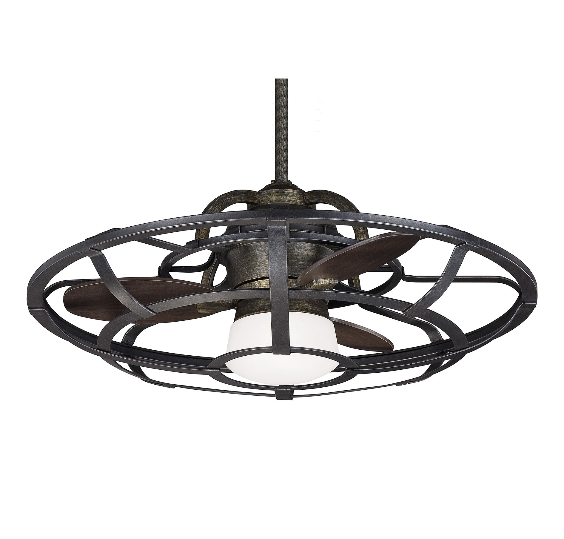 "Wilburton 3 Blade Outdoor Ceiling Fans With Regard To Recent Laurel Foundry Modern Farmhouse 26"" Wilburton 3 Blade Outdoor Ceiling Fan With Remote (View 2 of 20)"