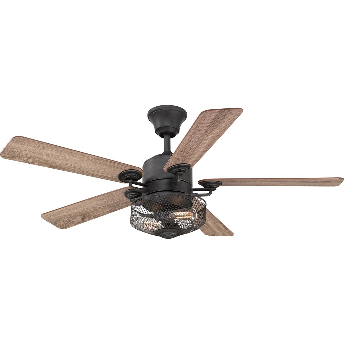 "Wilburton 5 Blade Ceiling Fans With Remote Within Well Known 54"" Clauson 5 Blade Ceiling Fan With Remote (View 20 of 20)"