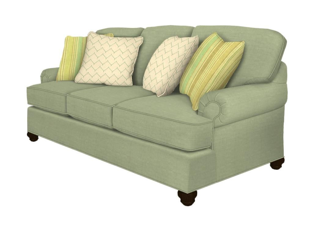 Wrobel Patio Sectionals With Cushion Within 2019 Paula Deencraftmaster Living Room Sofa P (View 20 of 20)