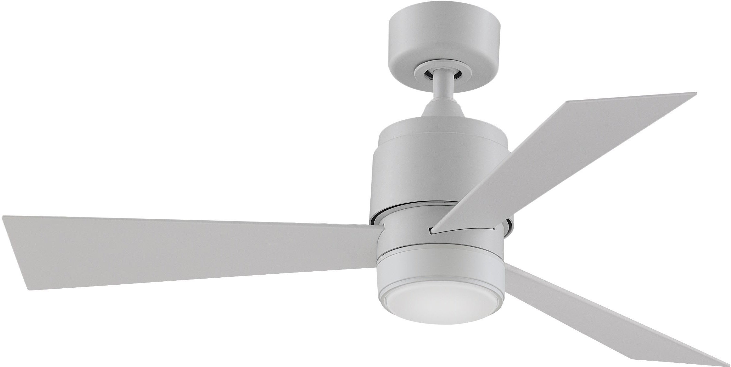 Zonix 3 Blade Ceiling Fans With Favorite Fanimation Fp4660mww 44mww Lk Matte White Zonix Wet Custom (View 18 of 20)