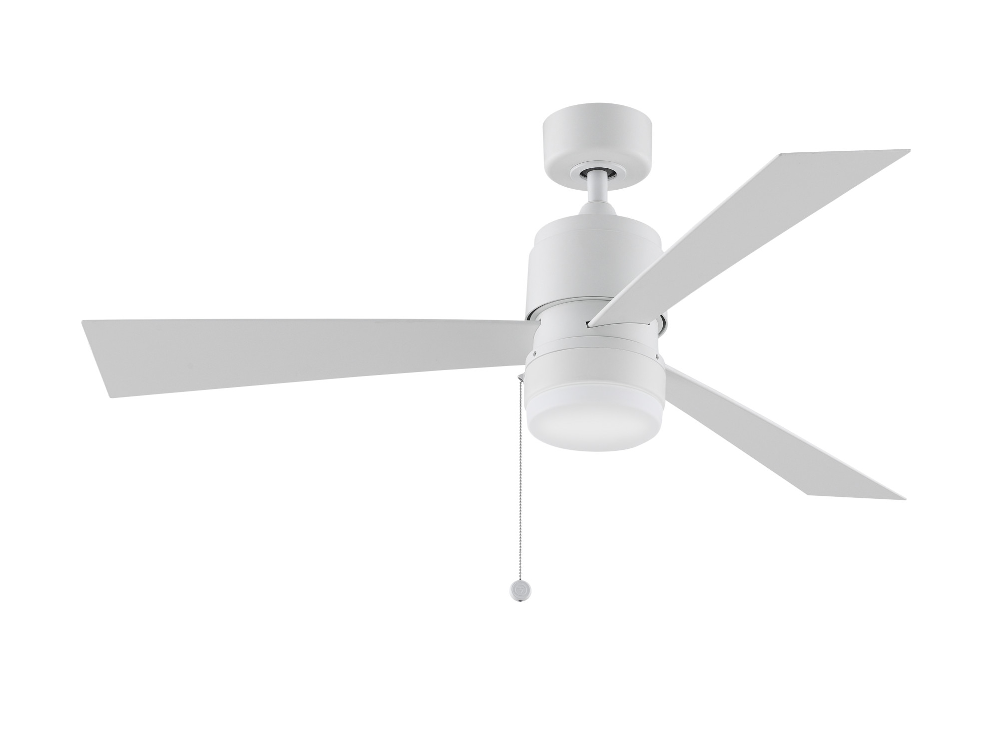 """Zonix 3 Blade Ceiling Fans With Regard To 2020 Details About Fanimation Zonix Wet 52 Zonix 52"""" 3 Blade Indoor / Outdoor  Ceiling Fan – Silver (View 18 of 20)"""