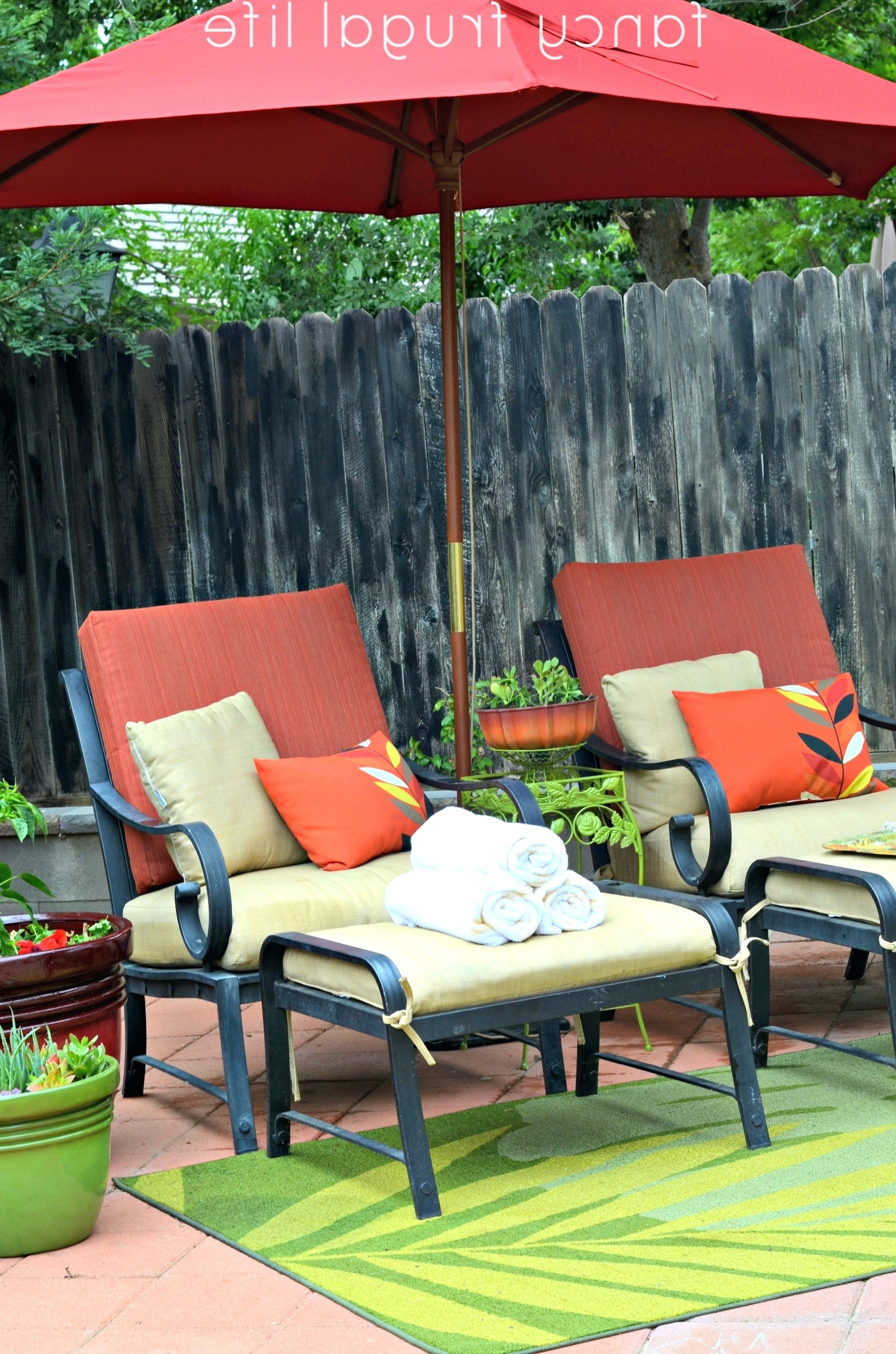 20 Elegant Ideas For Walmart Patio Chair Seat Cushions Regarding Current Jamaica Outdoor Chaise Lounges (View 1 of 25)