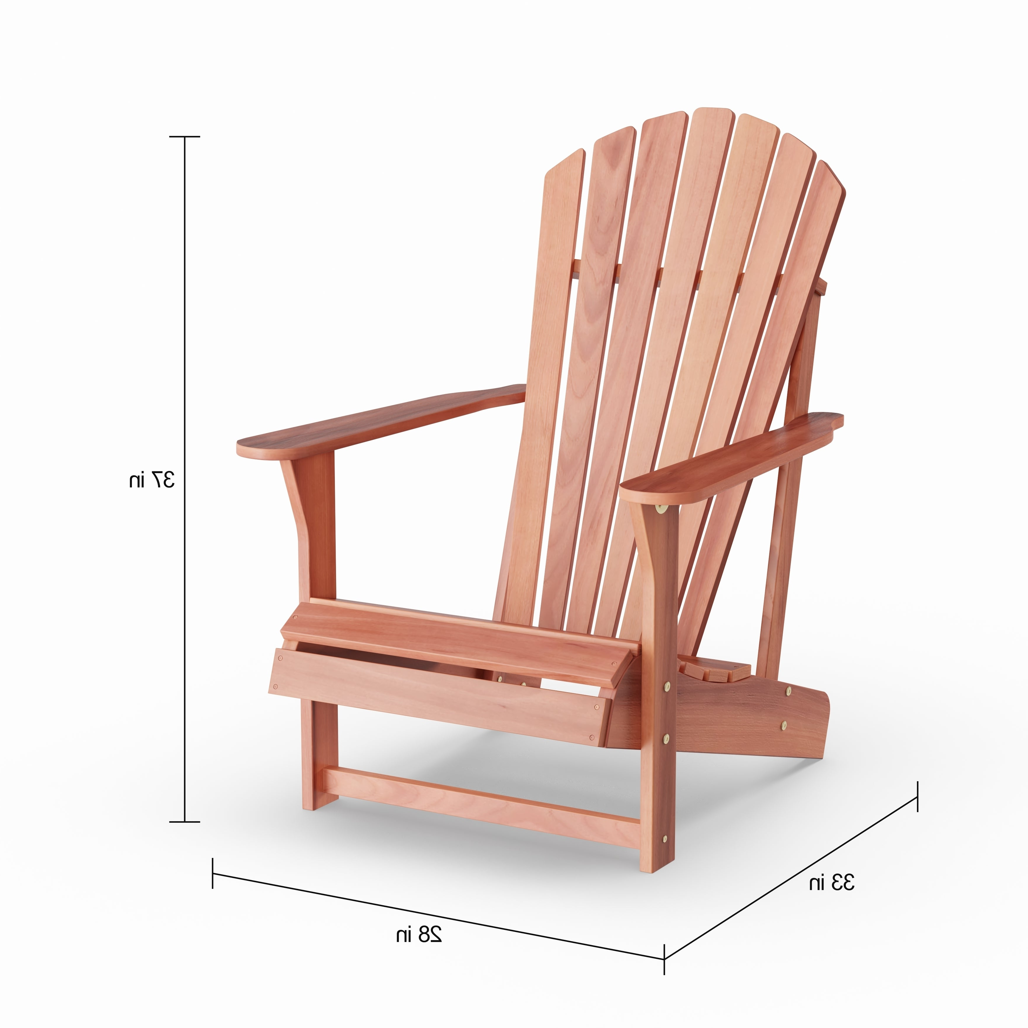 2019 Adirondack Chairs With Footrest Pertaining To Havenside Home Bergen 2 Piece Adirondack Chair With Footrest Set (View 1 of 25)
