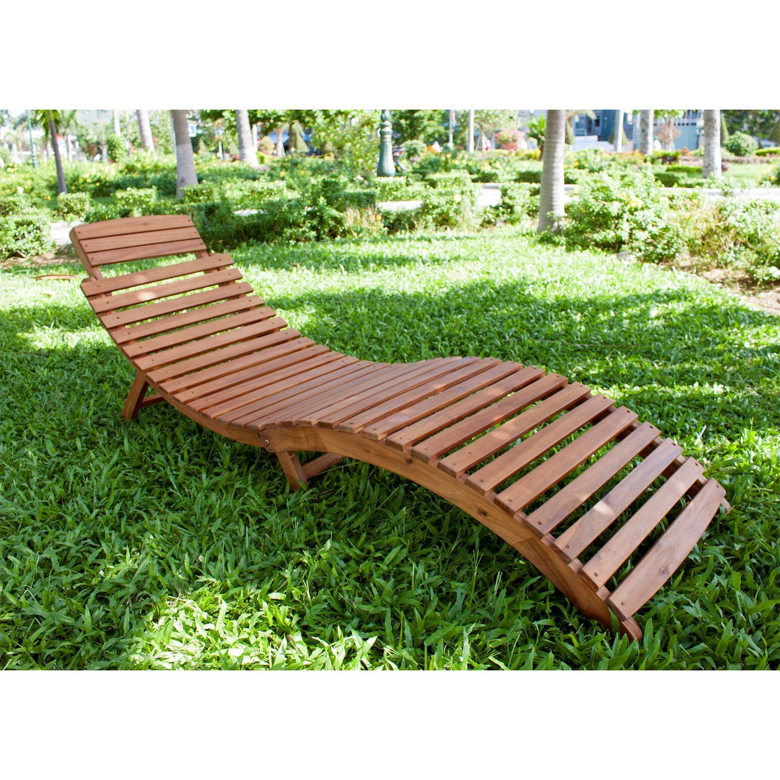 2019 Curved Folding Chaise Loungers Regarding Havenside Home Shi Shi Curved Folding Chaise Lounger (View 4 of 25)
