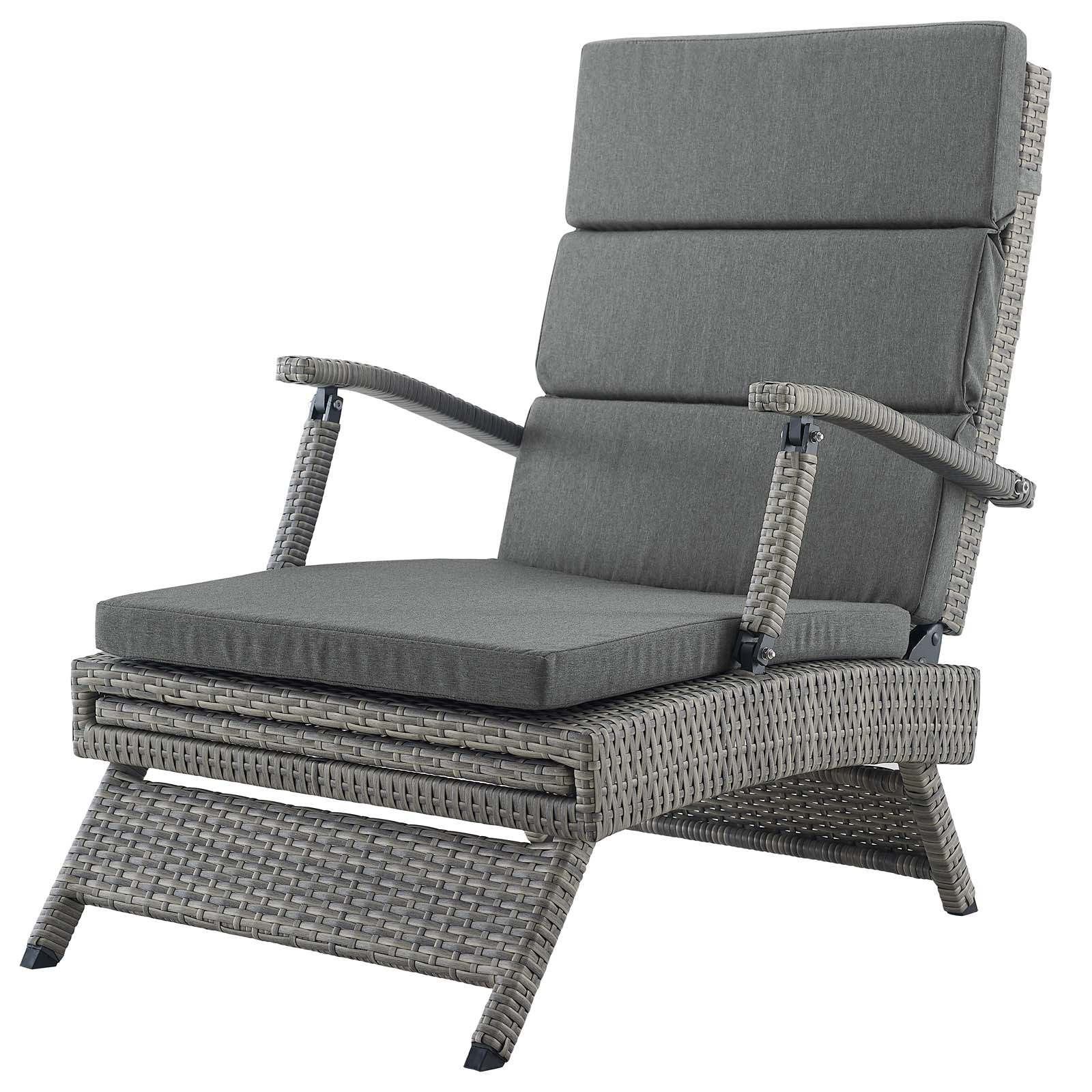 2019 Envisage Chaise Outdoor Patio Wicker Rattan Lounge Chairs Within Envisage Chaise Outdoor Patio Wicker Rattan Lounge Chair (View 4 of 25)