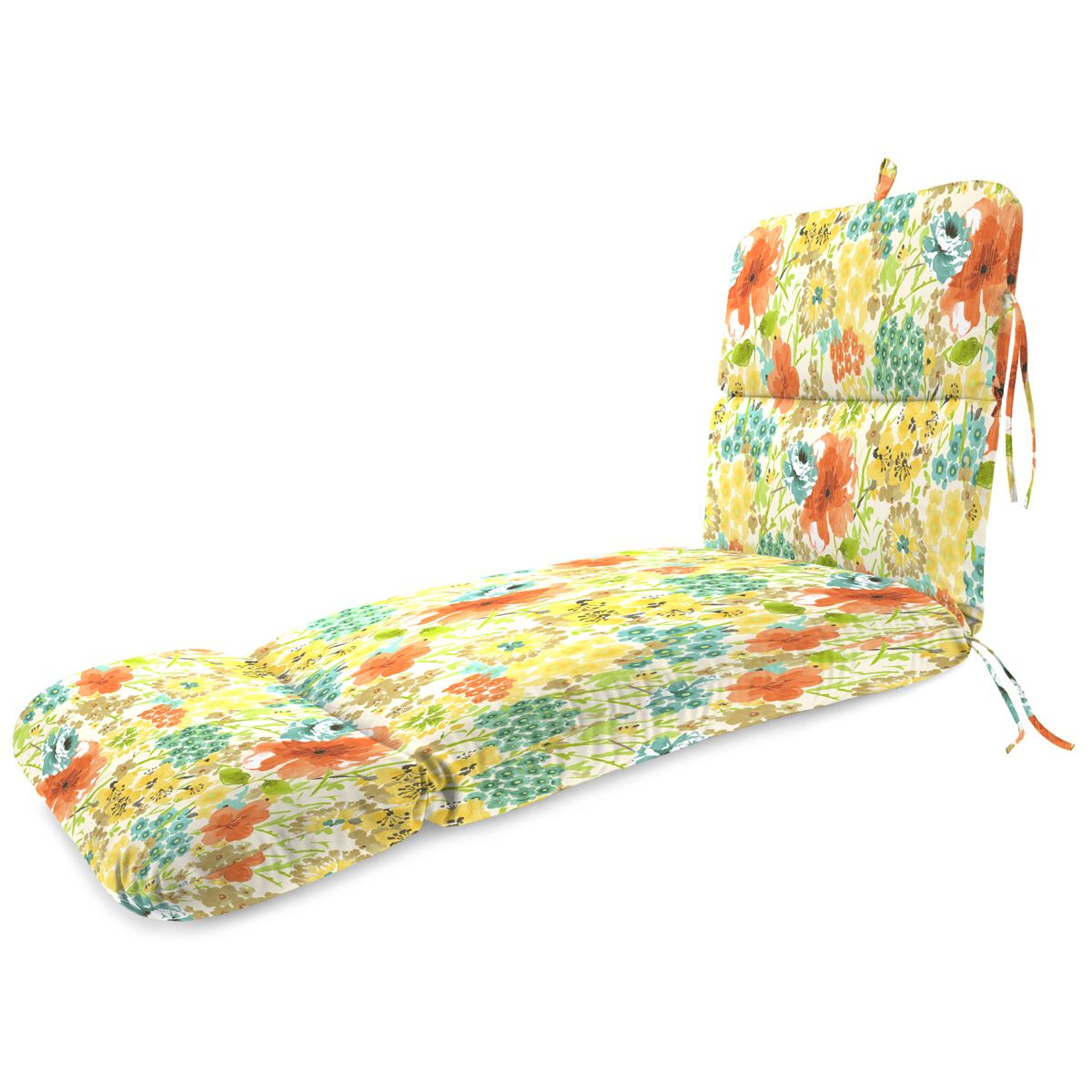 2019 Floral Blossom Chaise Lounge Chairs With Cushion Regarding Jordan Manufacturing Chaise Cushion – Flower Of Life (View 1 of 25)