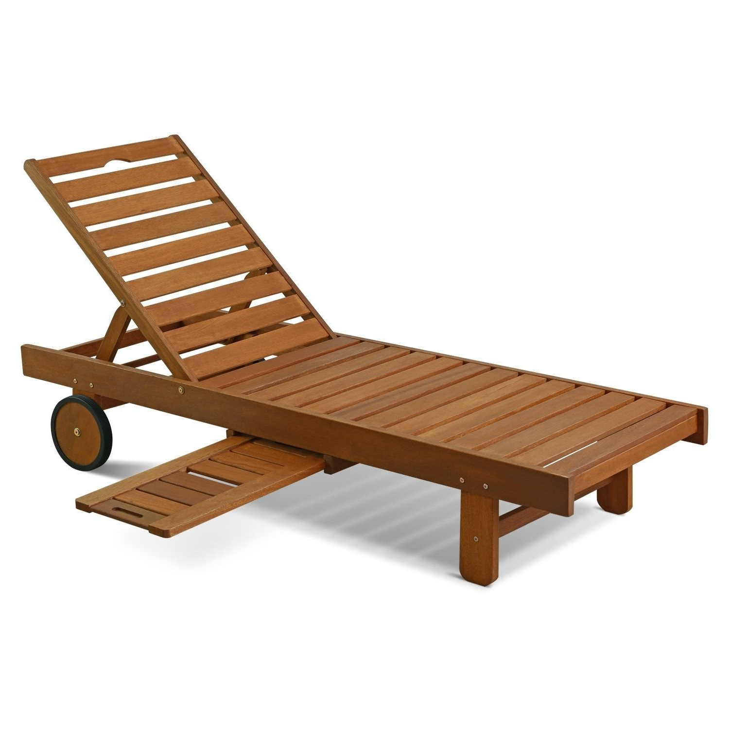 Featured Photo of Havenside Home Ormond Outdoor Hardwood Sun Loungers with Tray