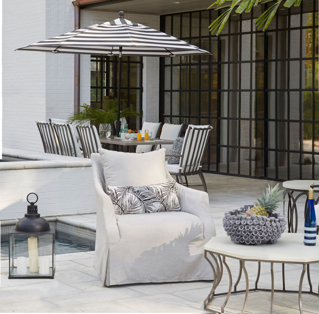 2019 Inside Out: Selecting Outdoor Fabrics And Upholstery For With Regard To Indoor Outdoor Textured Bright Chaise Lounges With Sunbrella Fabric (View 17 of 25)