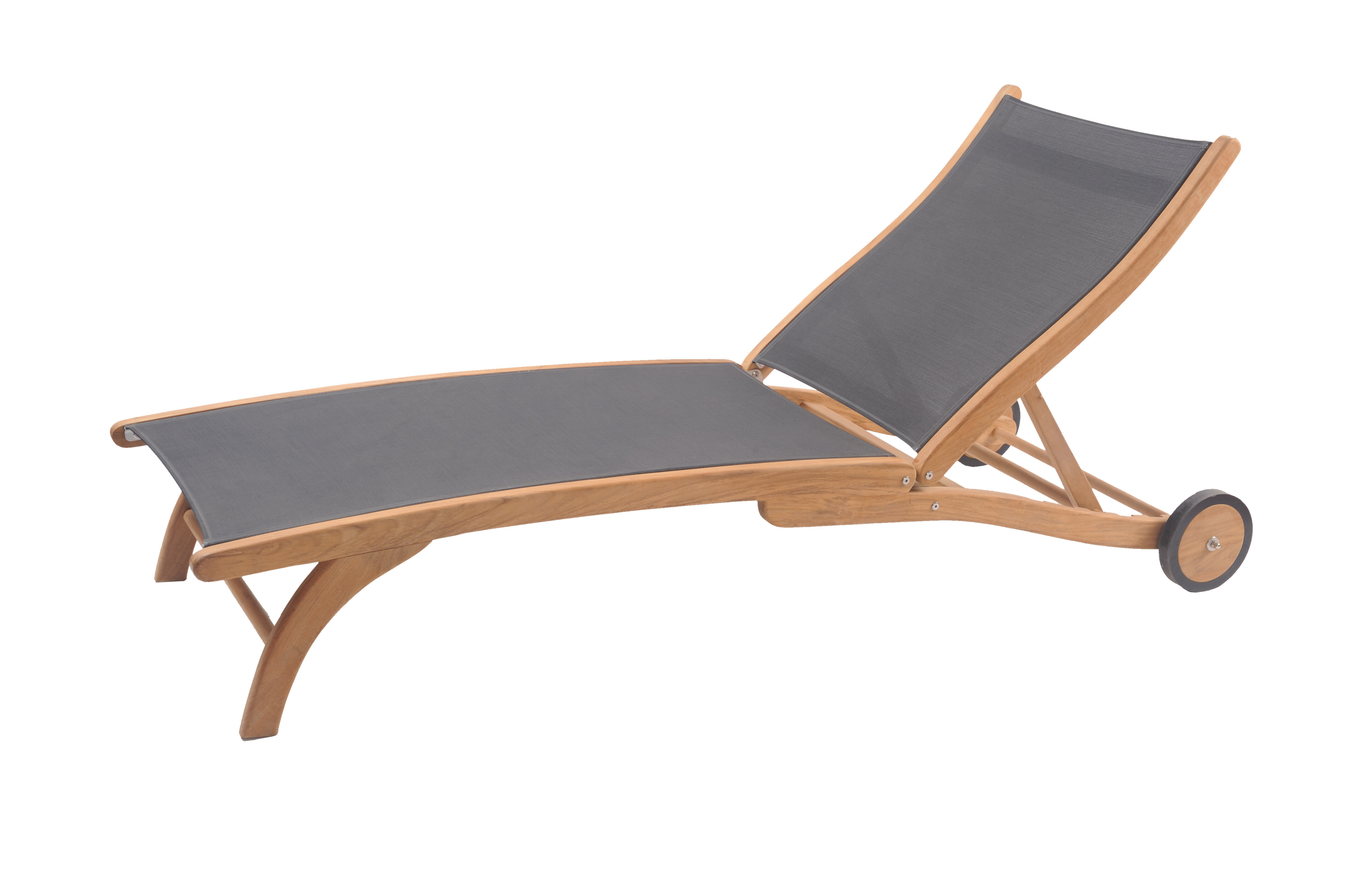 2019 Teak Chaise Loungers Pertaining To Maria Reclining Teak Chaise Lounge (View 19 of 25)