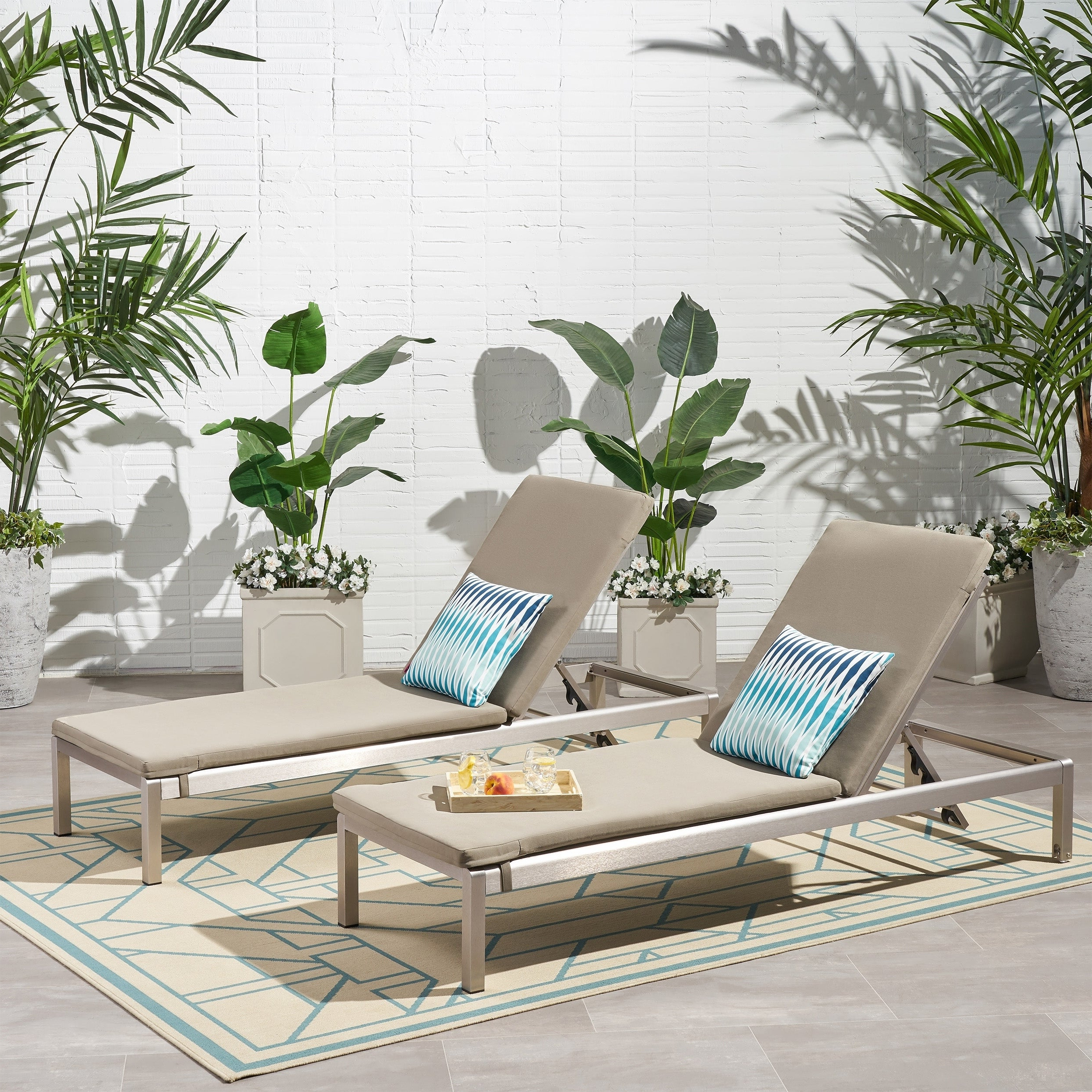 Featured Photo of Cape Coral Outdoor Chaise Lounges with Cushion