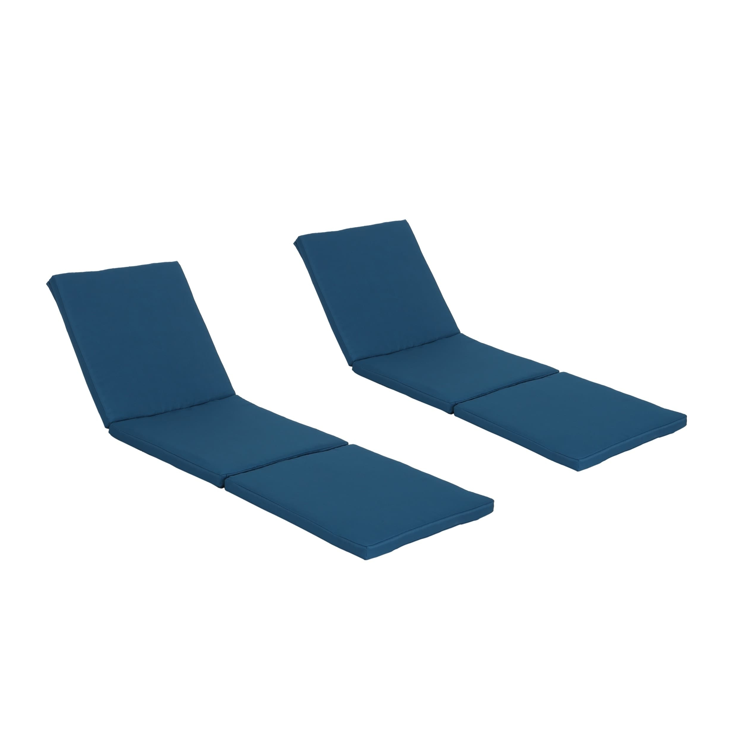 2020 Christopher Knight Home Jamaica Outdoor Water Resistant Chaise Lounge  Cushion (Set Of 2) By Within Jamaica Outdoor Chaise Lounges (View 2 of 25)