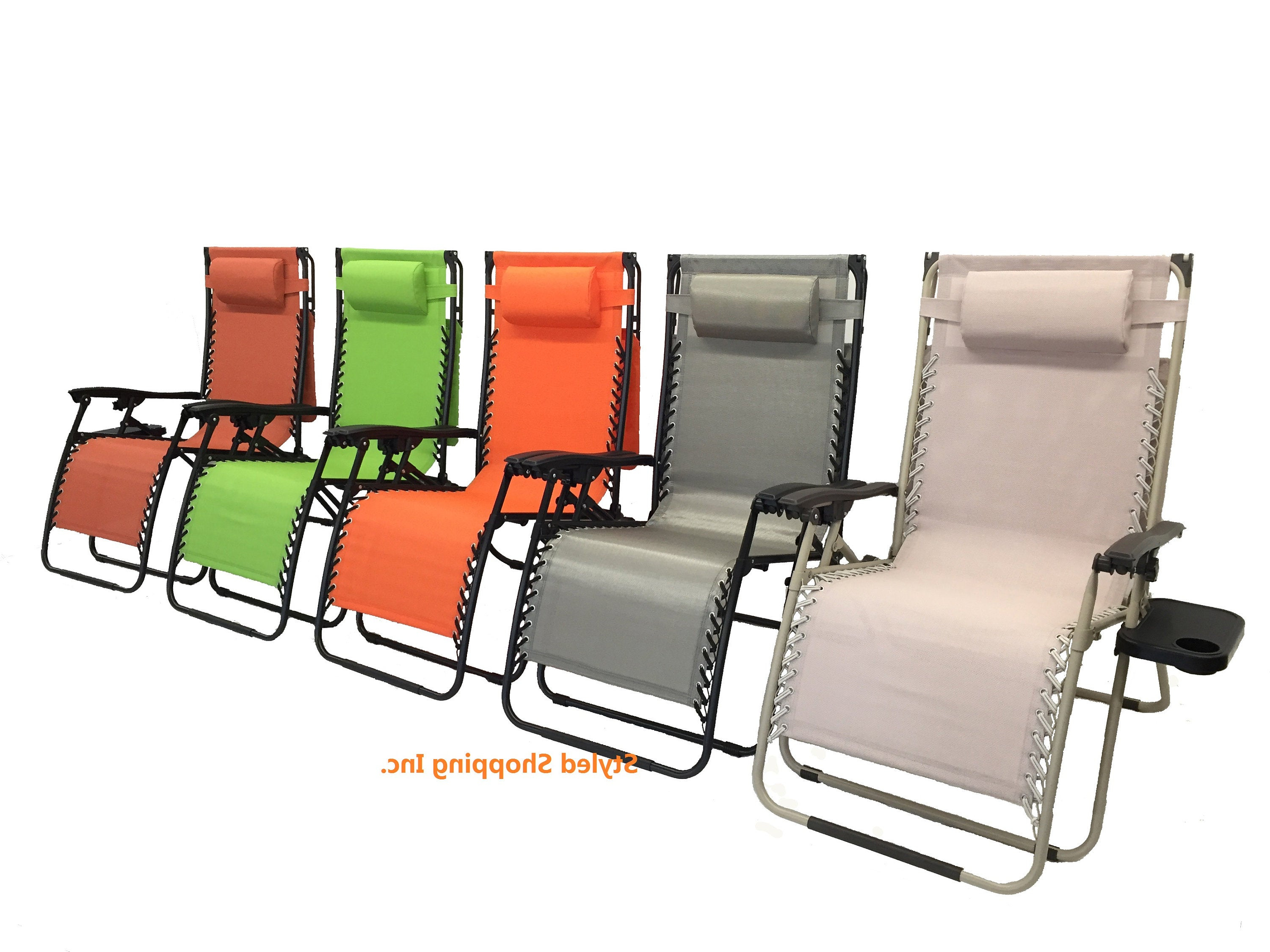 2020 Deluxe Padded Chairs With Canopy And Tray Pertaining To Deluxe Extra Large Oversized Zero Gravity Chair With Canopy And Tray (View 3 of 25)