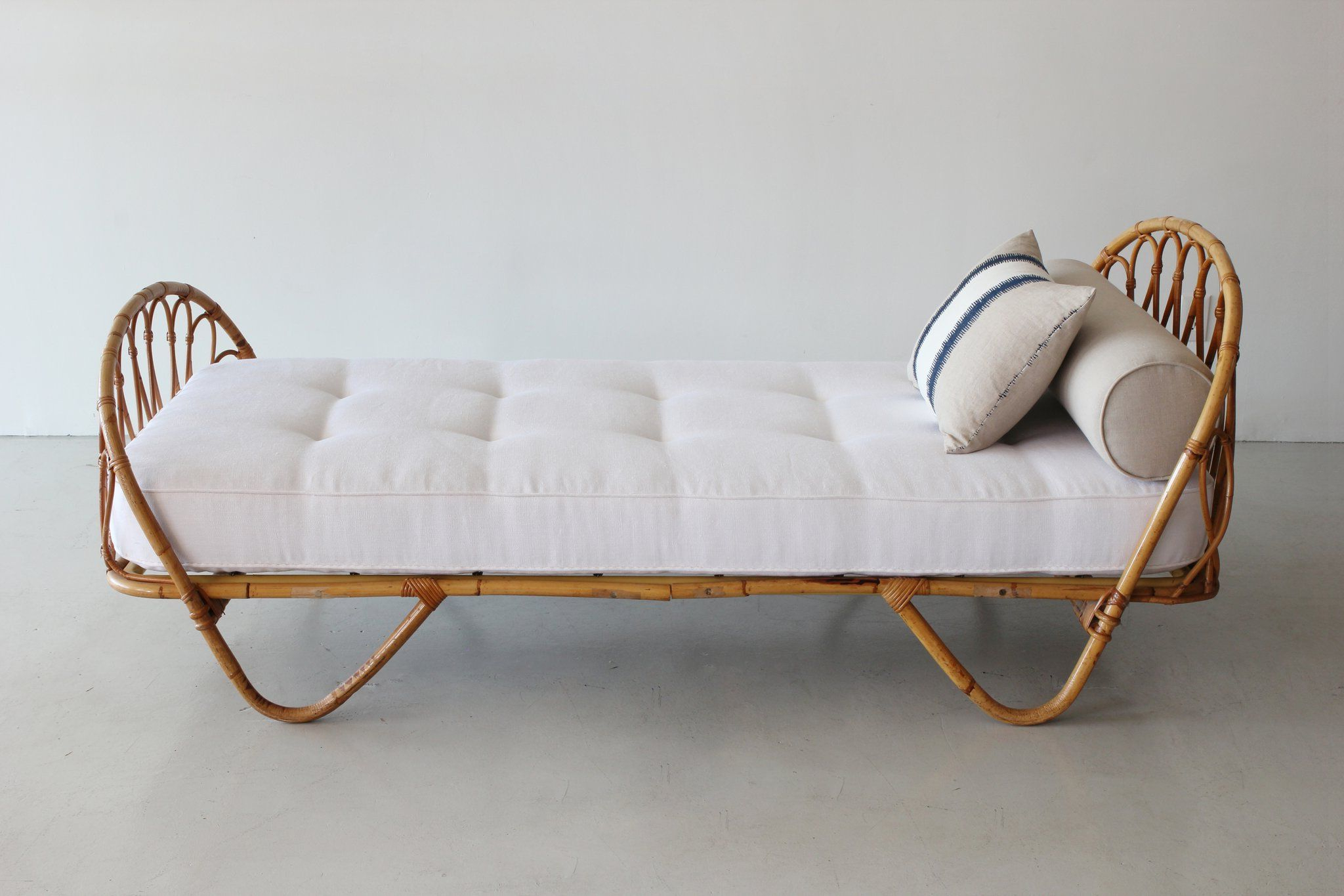 2020 French Bamboo Daybed (View 3 of 25)