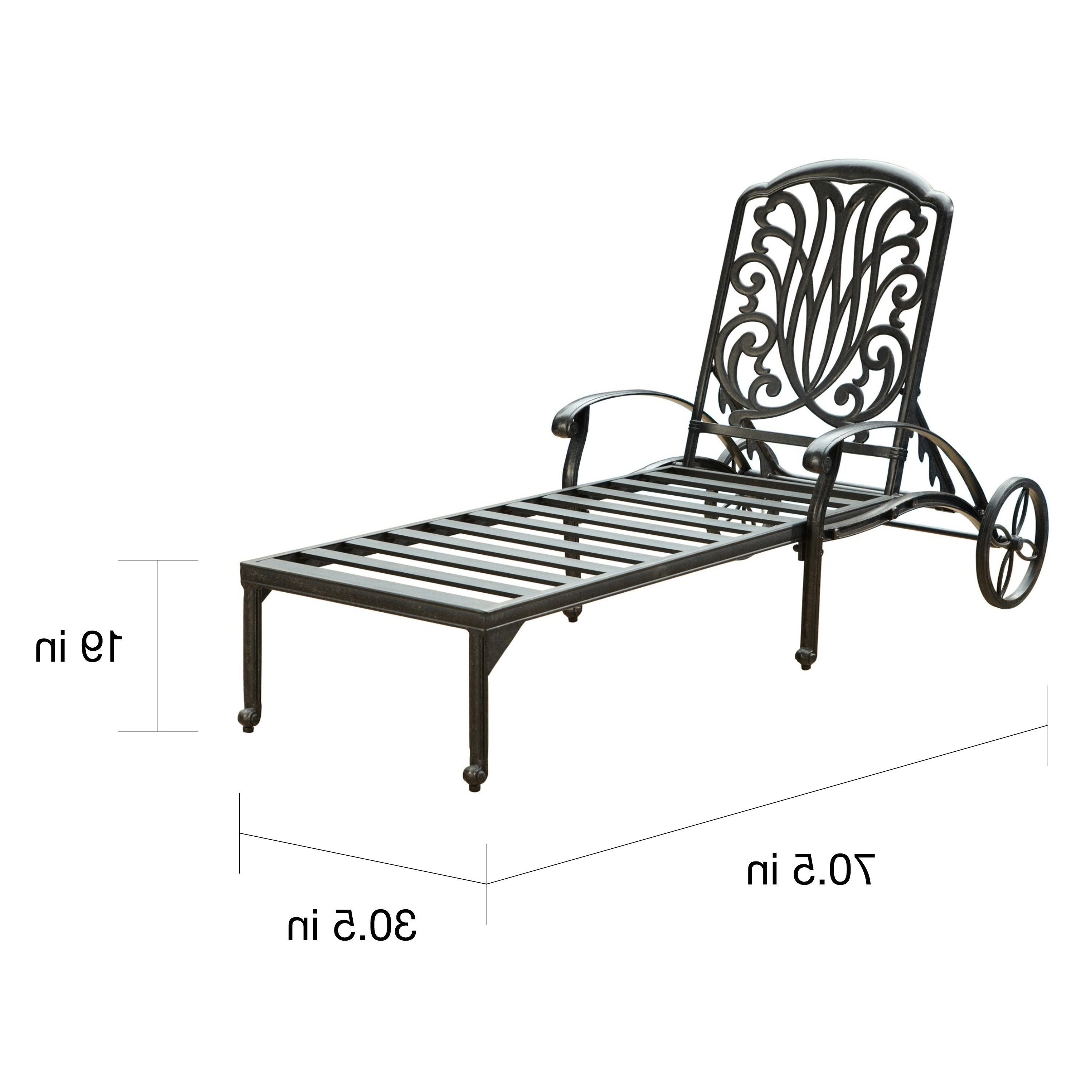 2020 Havenside Home Montauk Floral Blossom Chaise Lounge Chair With Cushion Intended For Floral Blossom Chaise Lounge Chairs With Cushion (View 3 of 25)