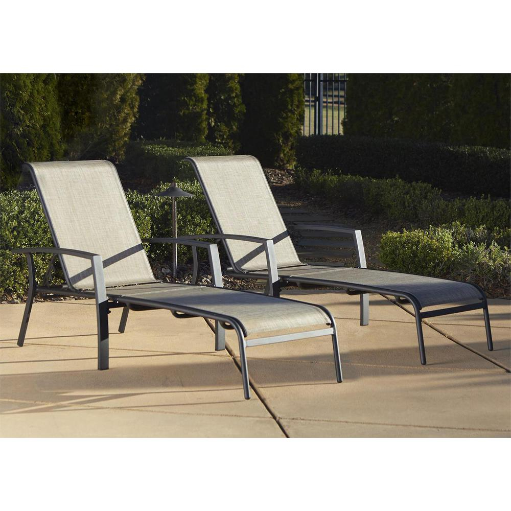 2020 Outdoor Living Inglewood Chaise Lounge Chairs Regarding Cosco Serene Ridge Patio Furniture Adjustable Aluminum Outdoor Chaise Lounge Chair In Dark Brown (Set Of 2) (View 16 of 25)