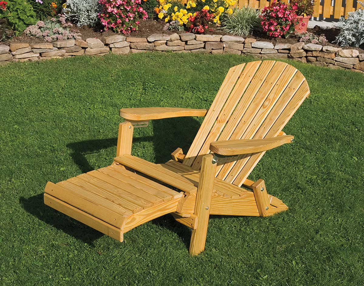 56 Wood Adirondack Chairs With Footrest, Dallas Cowboys For Recent Adirondack Chairs With Footrest (View 2 of 25)