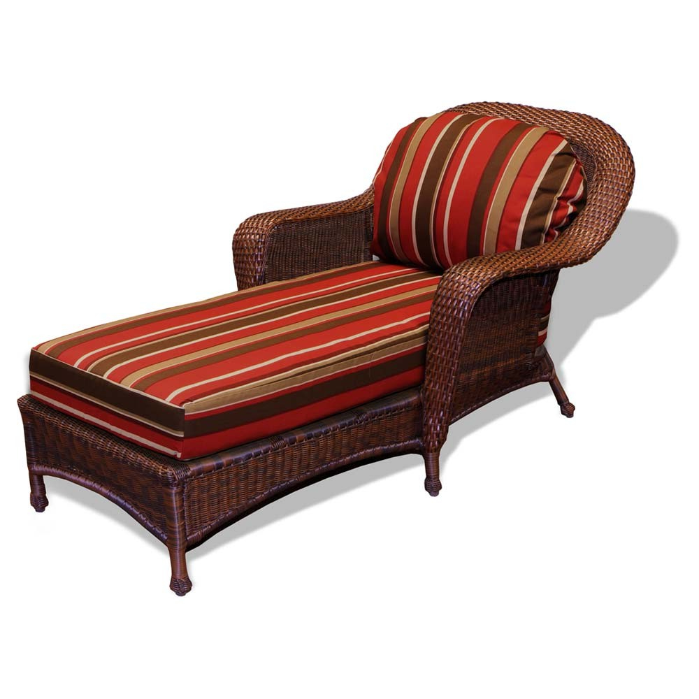 All Weather Rattan Wicker Chaise Lounges Inside Most Recent Outdoor Wicker Chaise Lounges – Wicker (View 4 of 25)