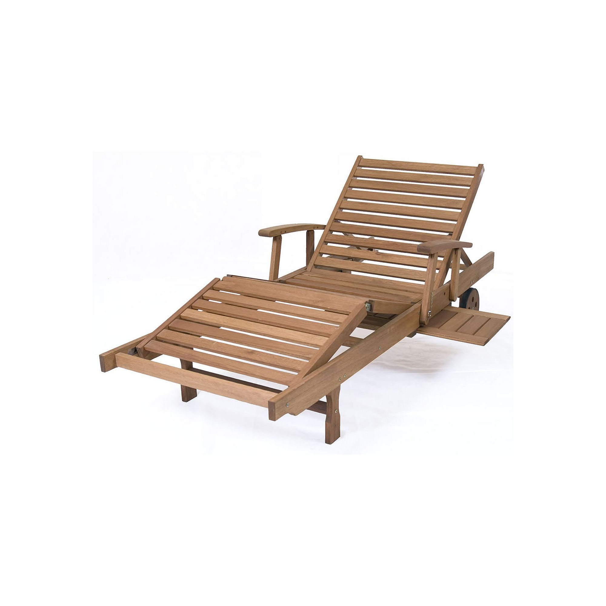 Amazonia Mariscal Chaise Wheeled Outdoor Lounge Chair Intended For Widely Used Cambridge Casual Sherwood Teak Chaise Lounges (View 21 of 25)