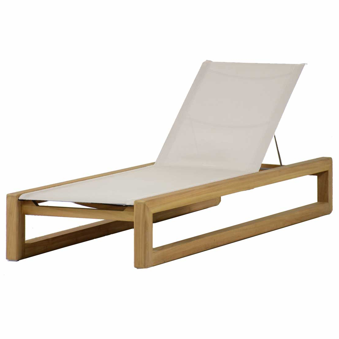 Bali Teak Chaise Lounge – Summer Classics In Famous Teak Chaise Loungers (Gallery 10 of 25)
